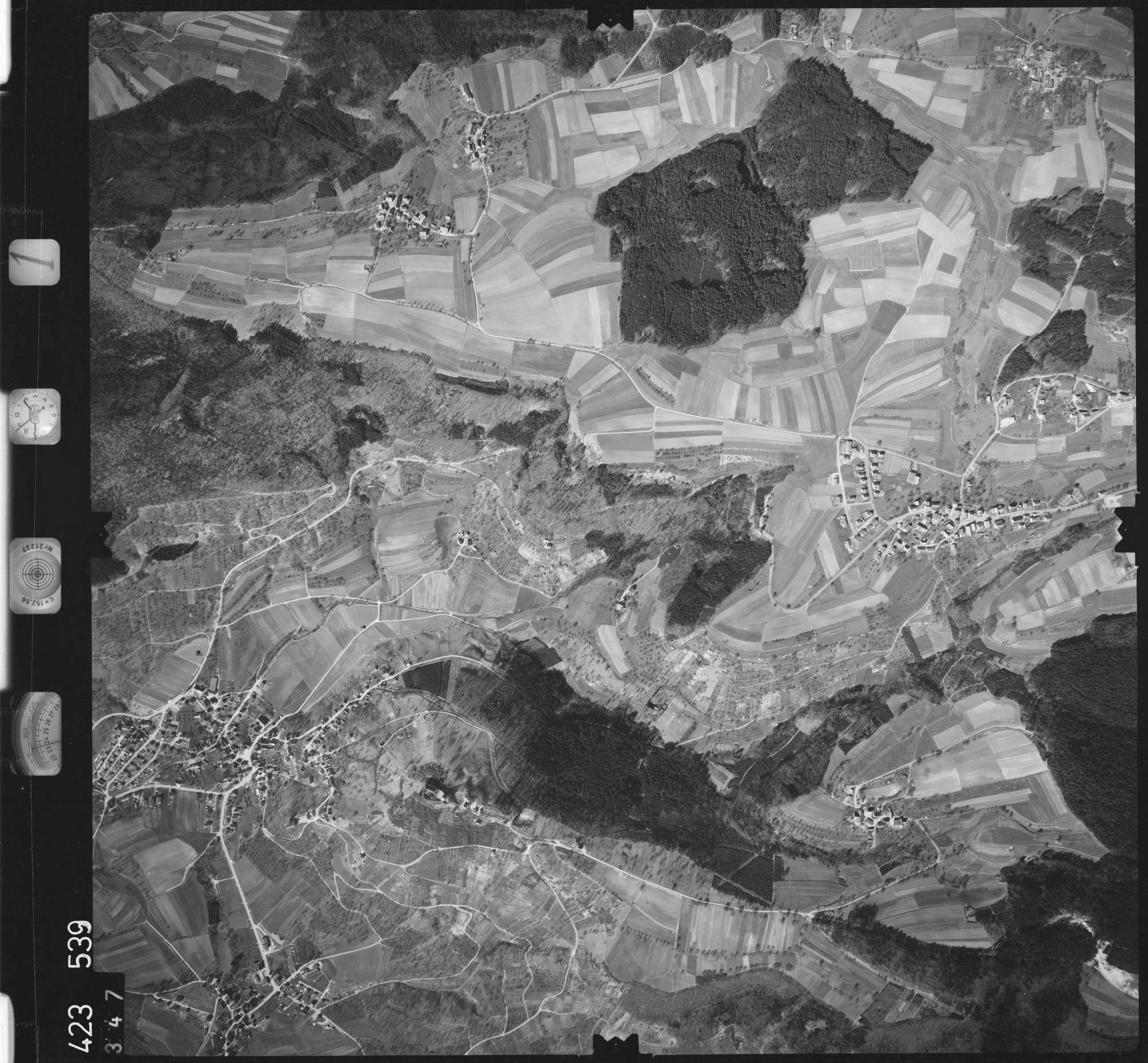 Luftbild: Film 1 Bildnr. 347, Bild 1