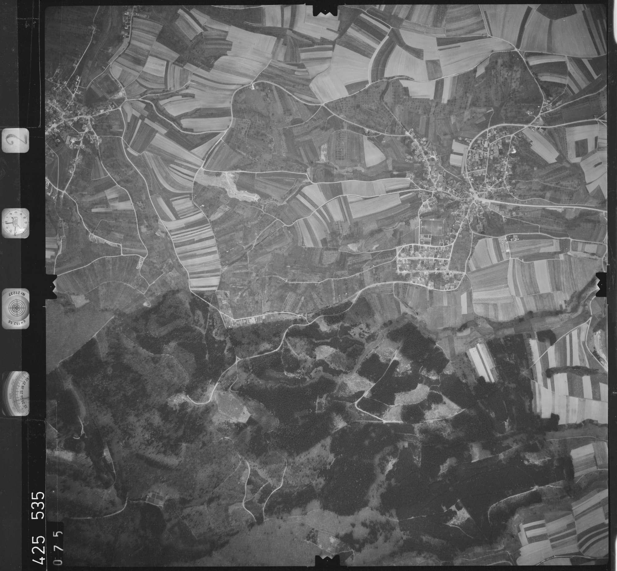 Luftbild: Film 2 Bildnr. 75, Bild 1