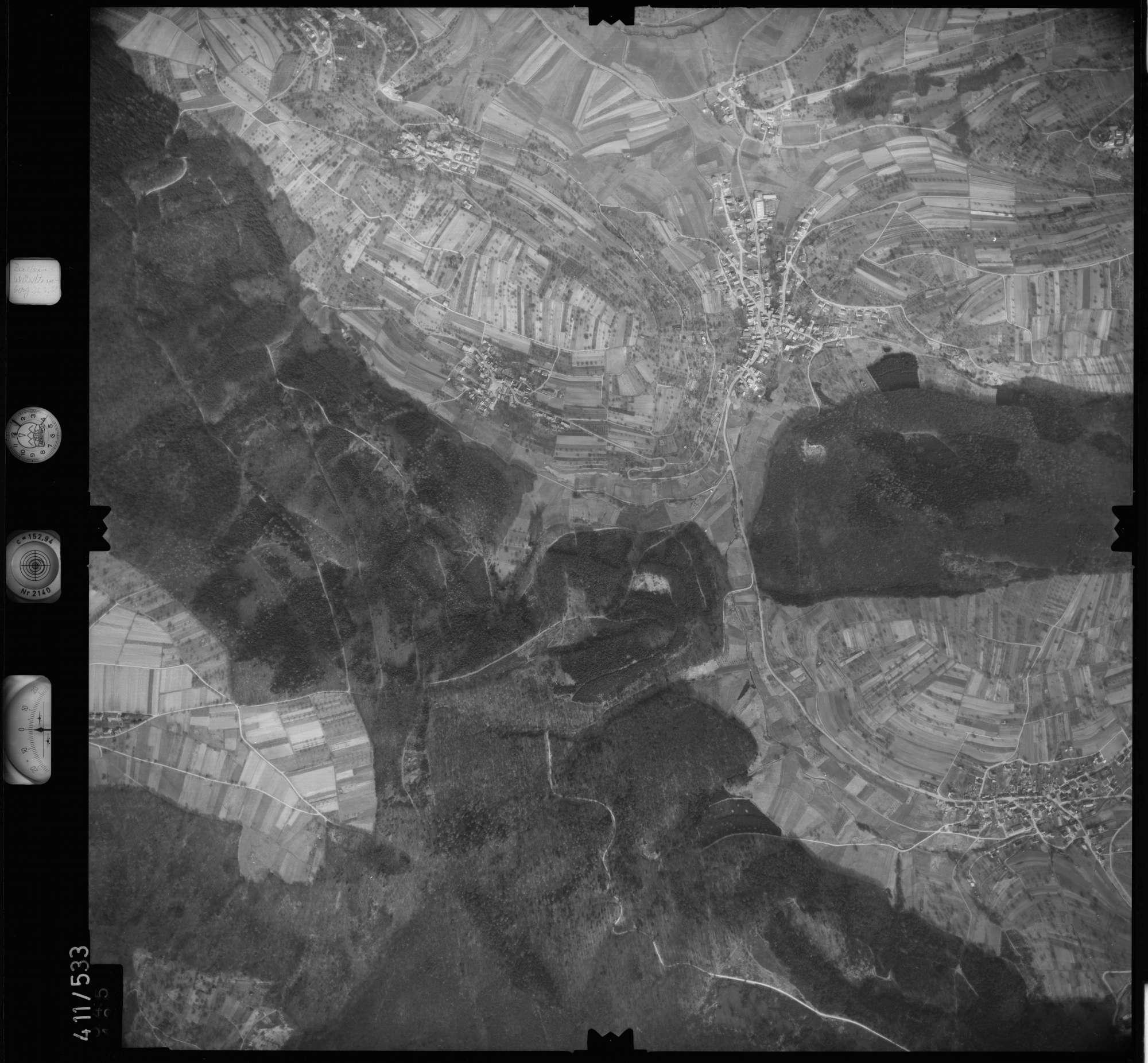 Luftbild: Film 7 Bildnr. 545, Bild 1