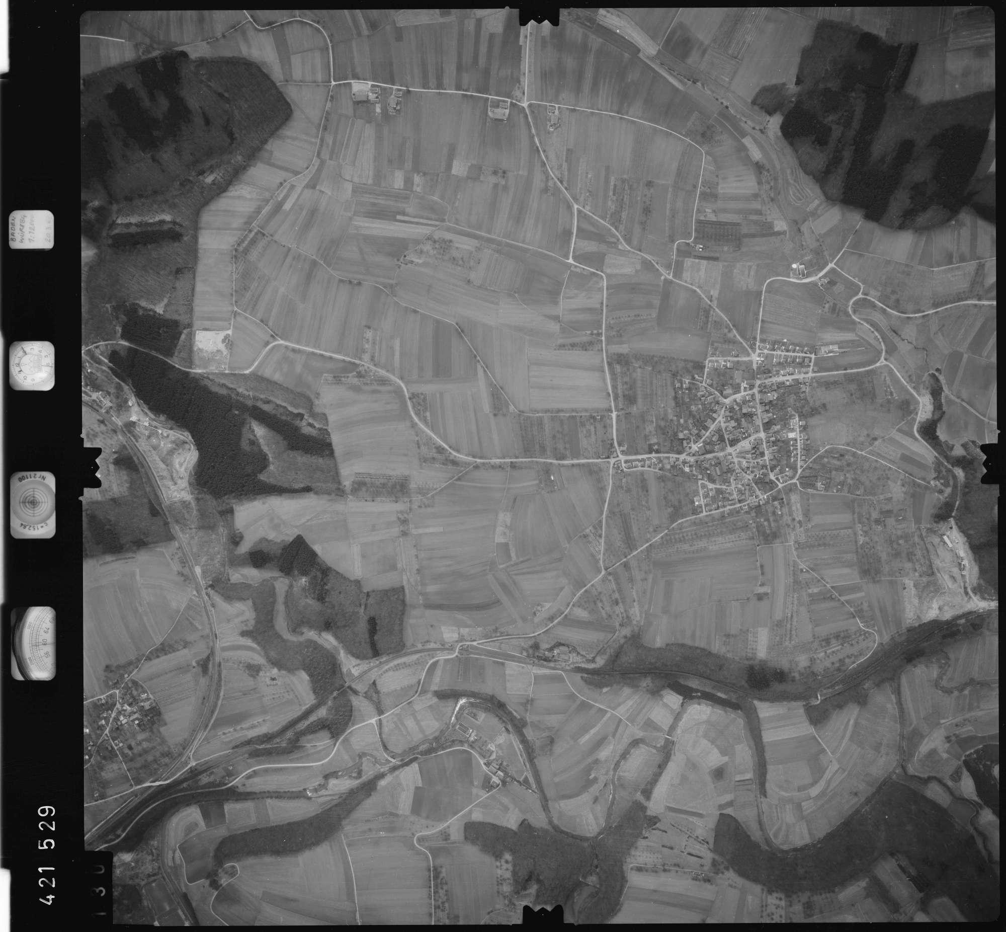Luftbild: Film 1 Bildnr. 130, Bild 1