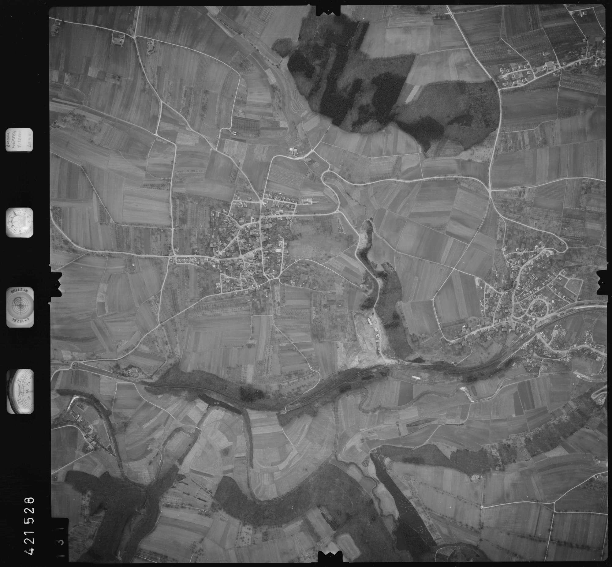 Luftbild: Film 1 Bildnr. 131, Bild 1