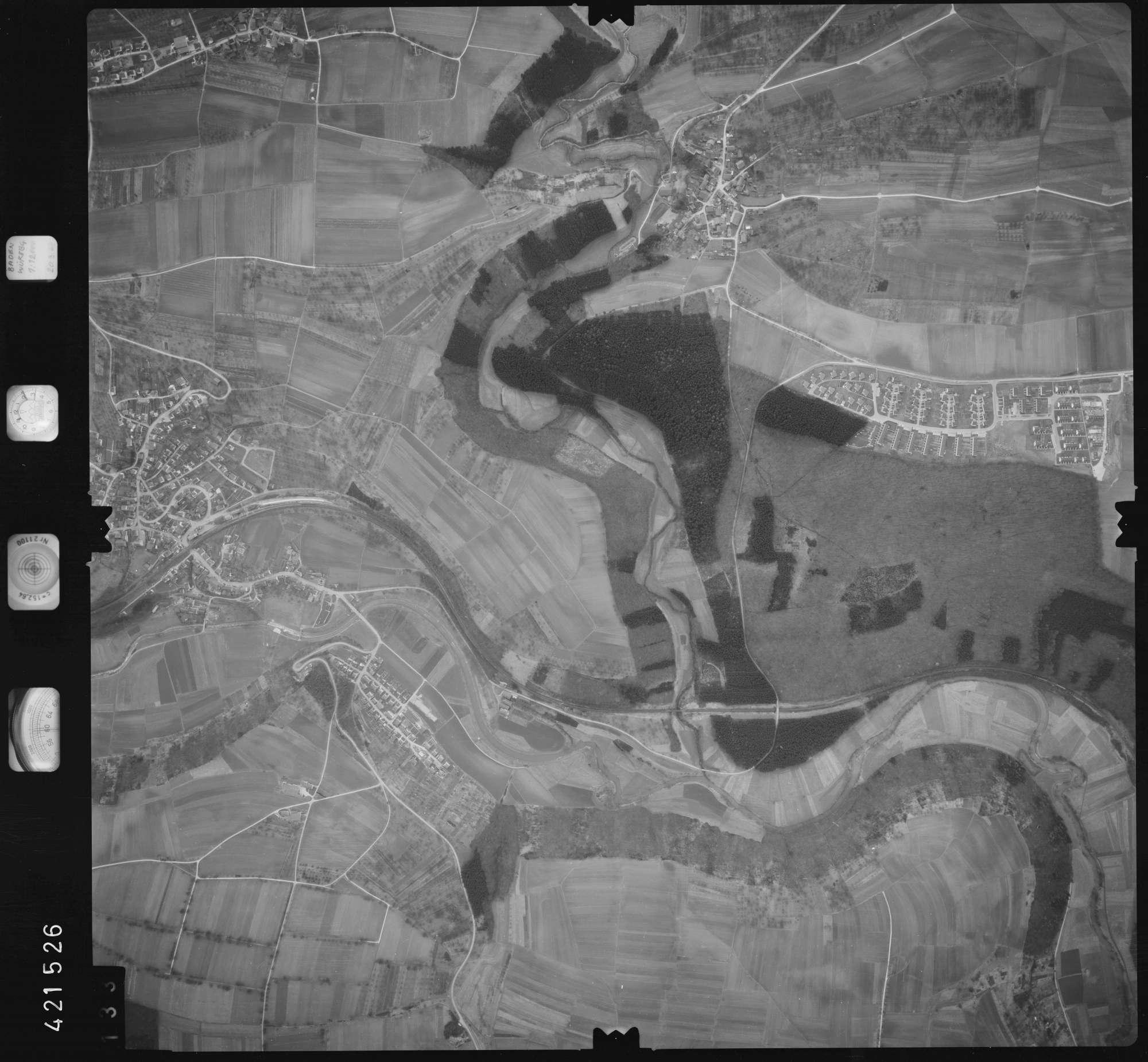 Luftbild: Film 1 Bildnr. 133, Bild 1