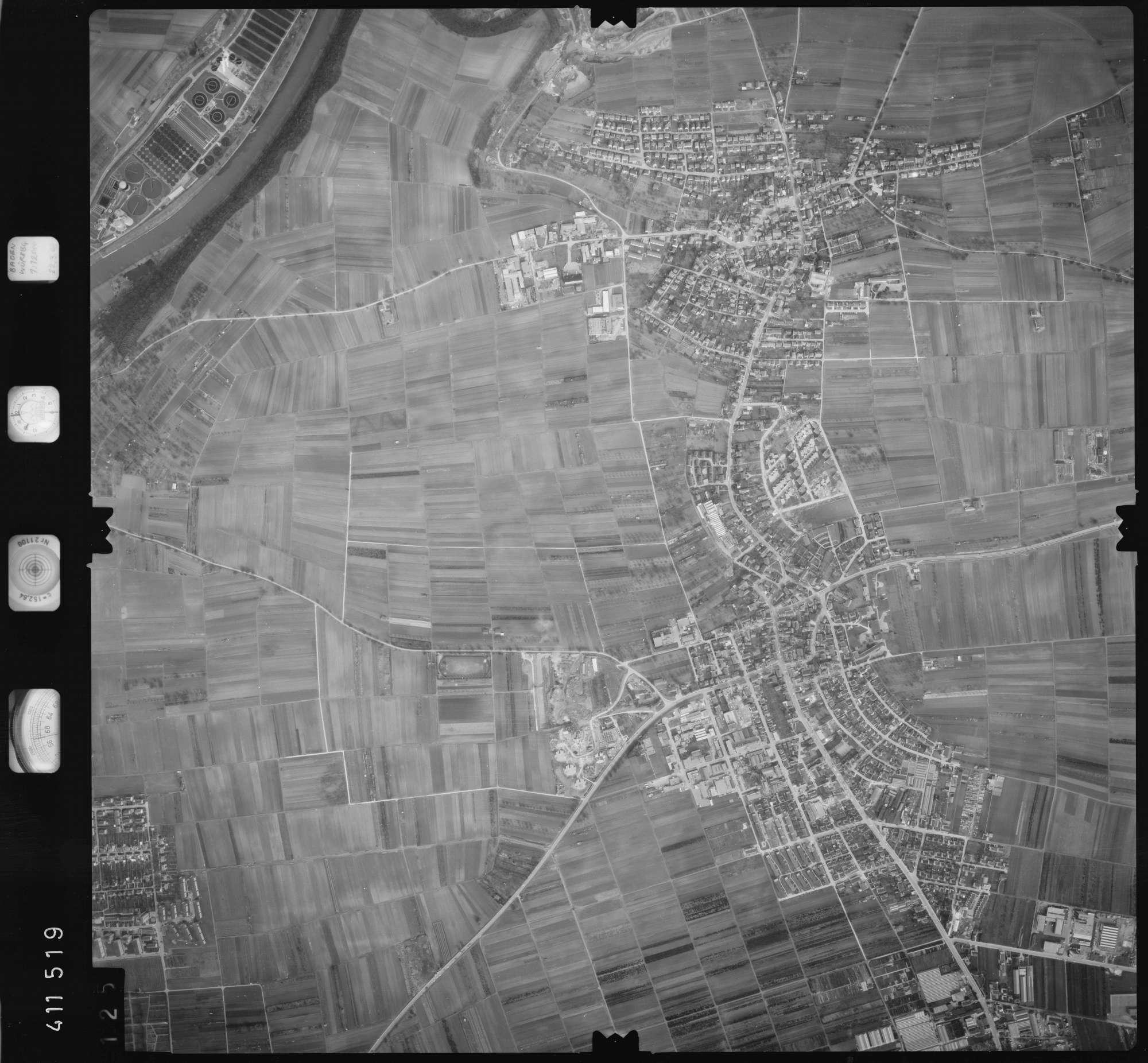 Luftbild: Film 5 Bildnr. 125, Bild 1