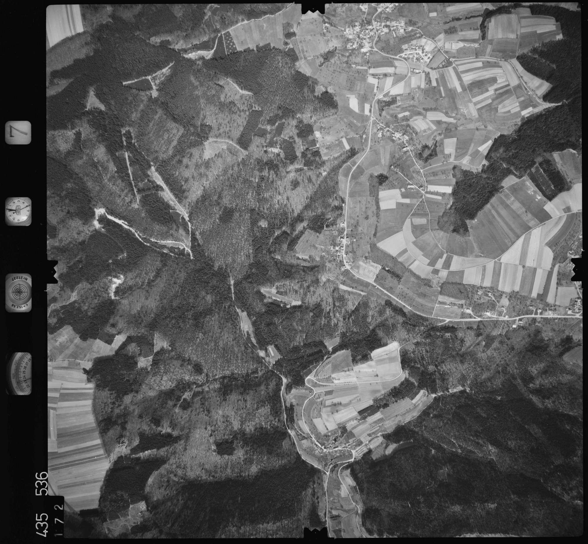 Luftbild: Film 7 Bildnr. 172, Bild 1