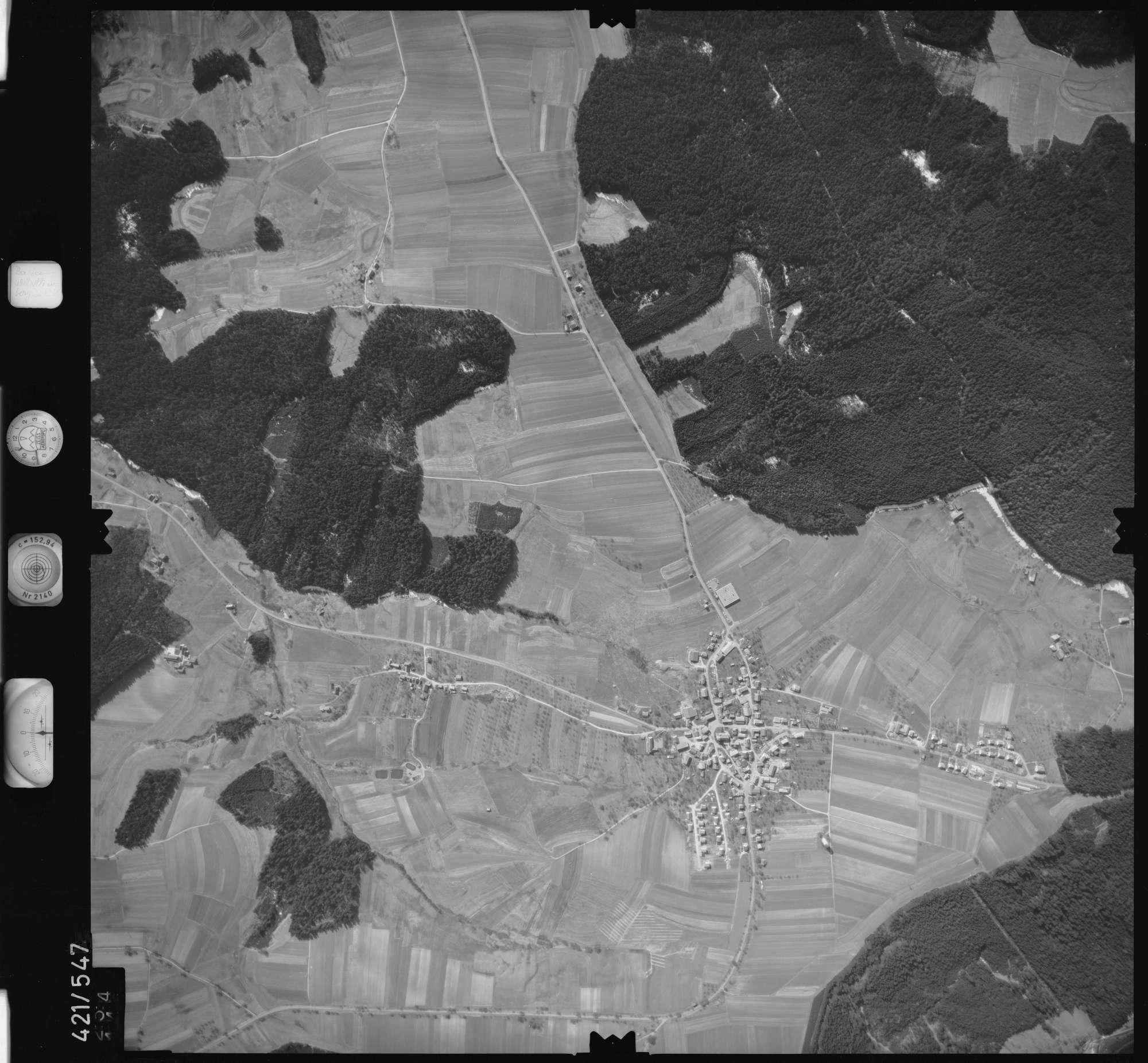 Luftbild: Film 6 Bildnr. 254, Bild 1