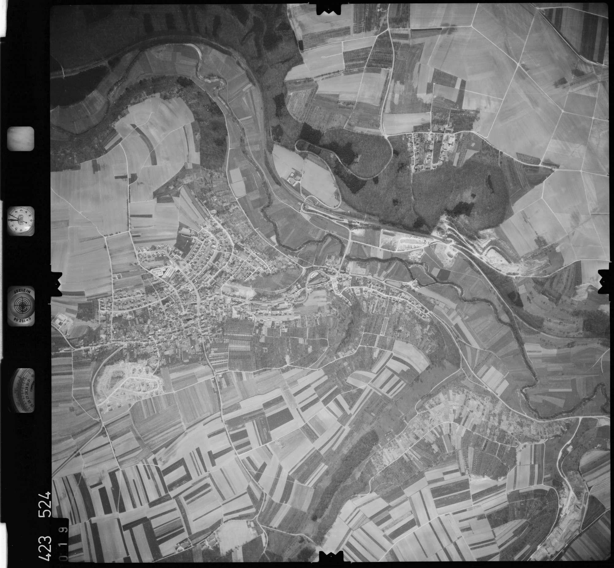 Luftbild: Film 1 Bildnr. 19, Bild 1