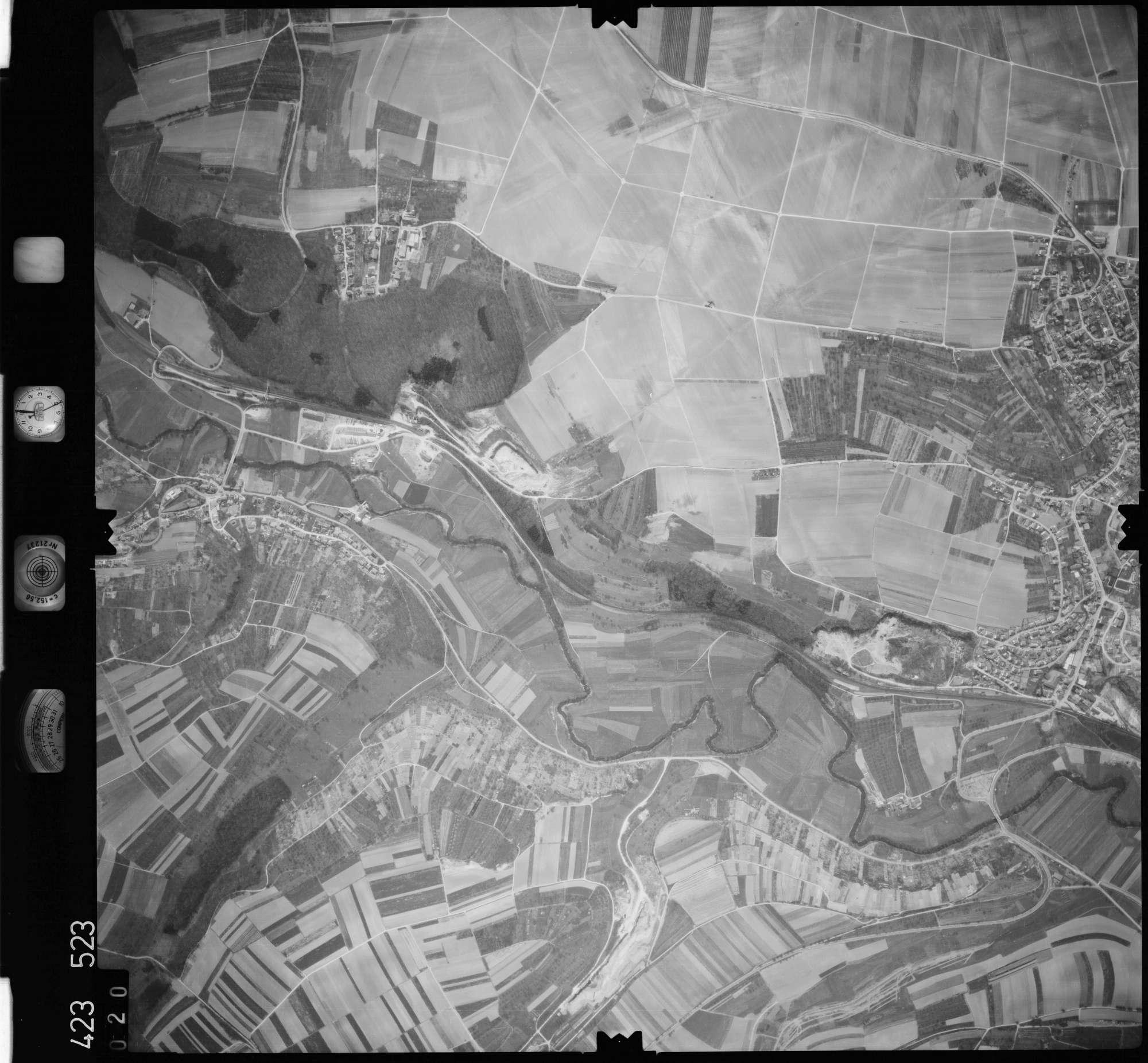 Luftbild: Film 1 Bildnr. 20, Bild 1