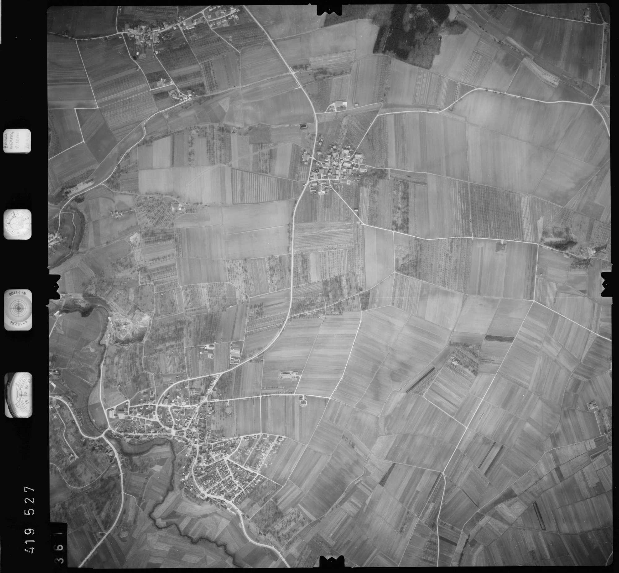 Luftbild: Film 2 Bildnr. 361, Bild 1