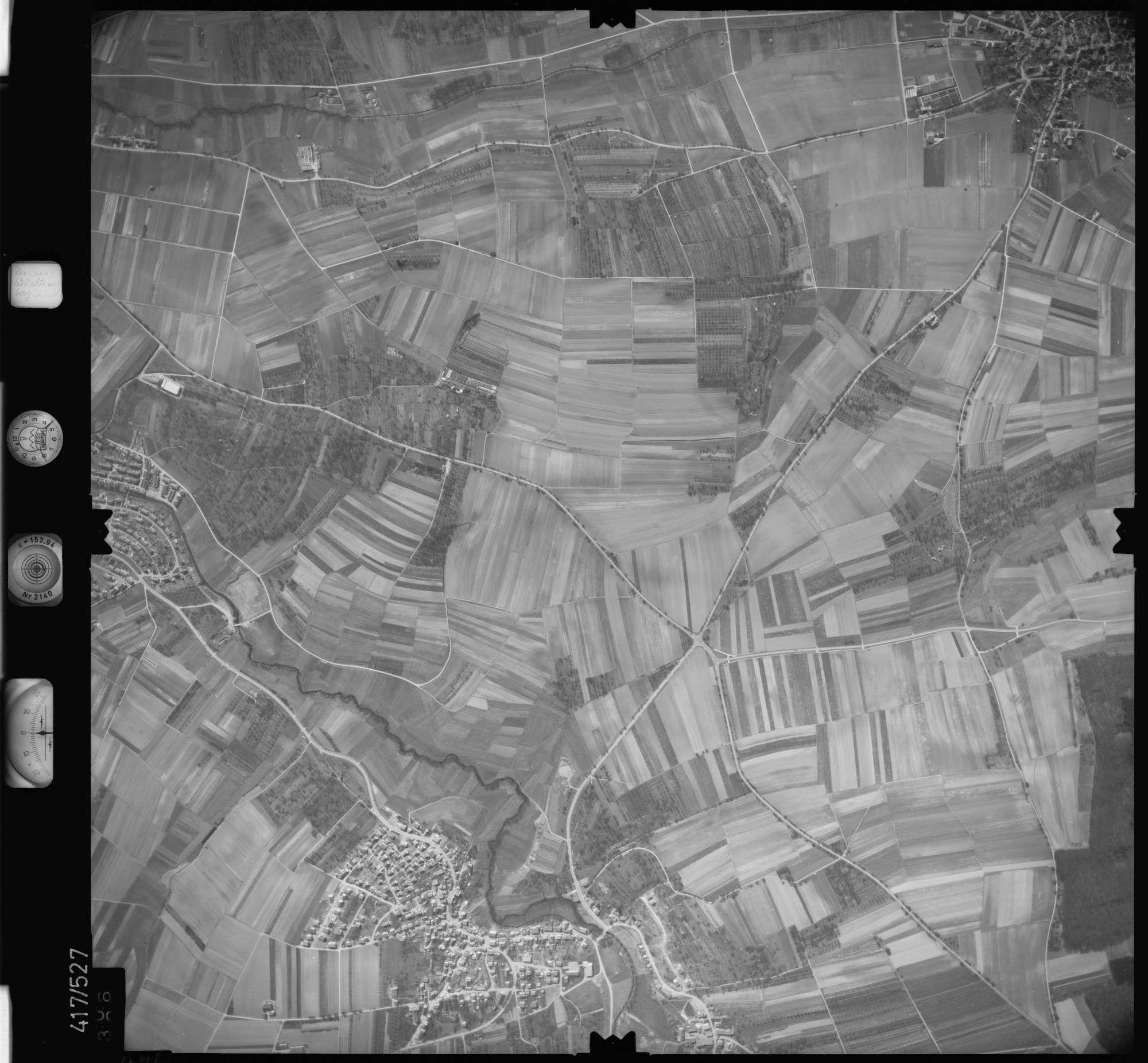 Luftbild: Film 6 Bildnr. 406, Bild 1