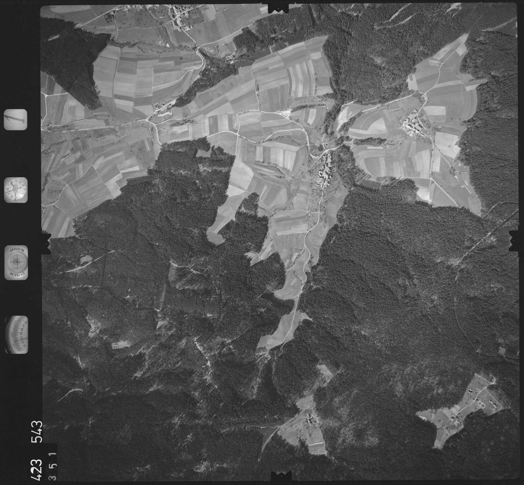 Luftbild: Film 1 Bildnr. 351, Bild 1