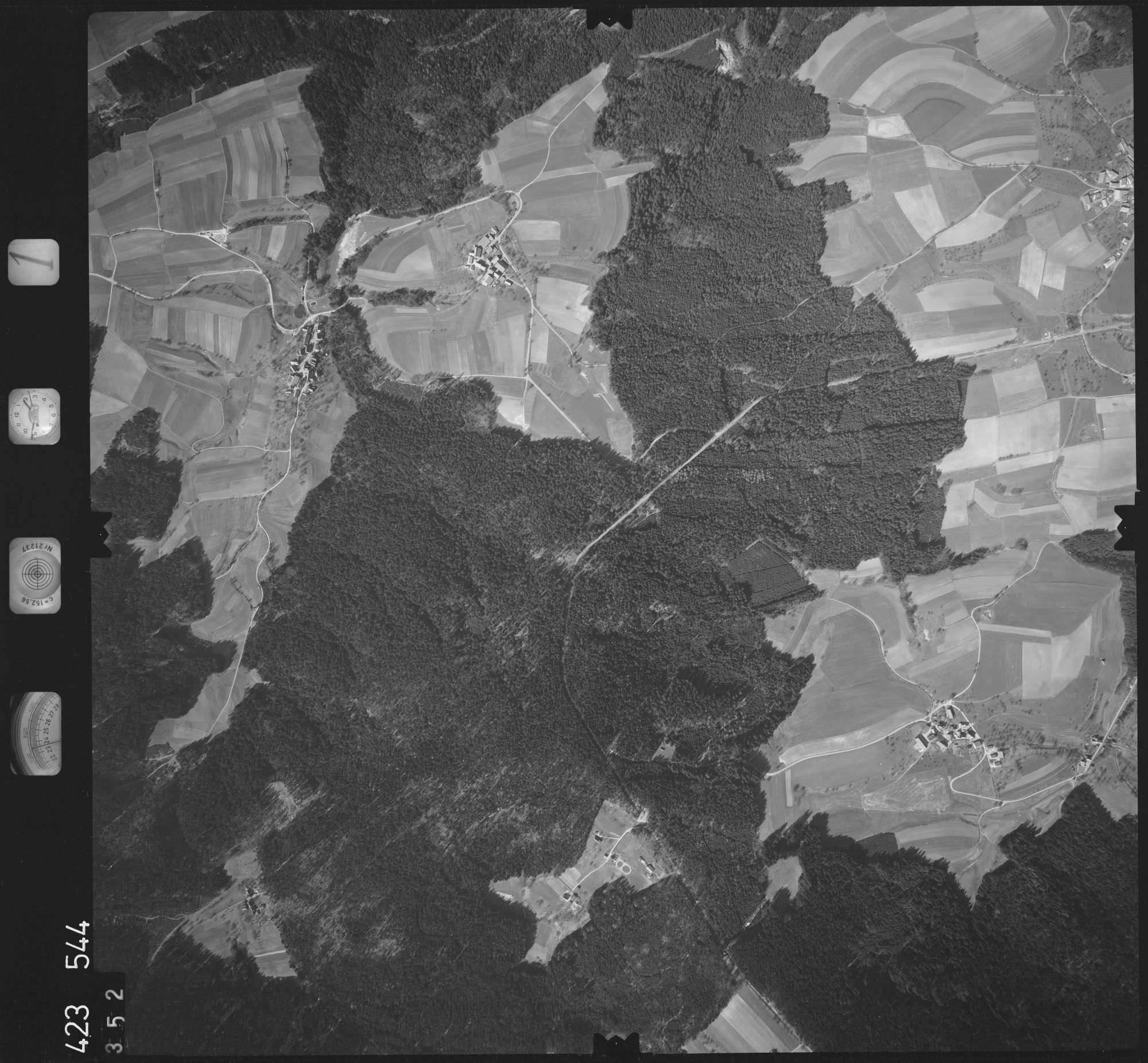 Luftbild: Film 1 Bildnr. 352, Bild 1