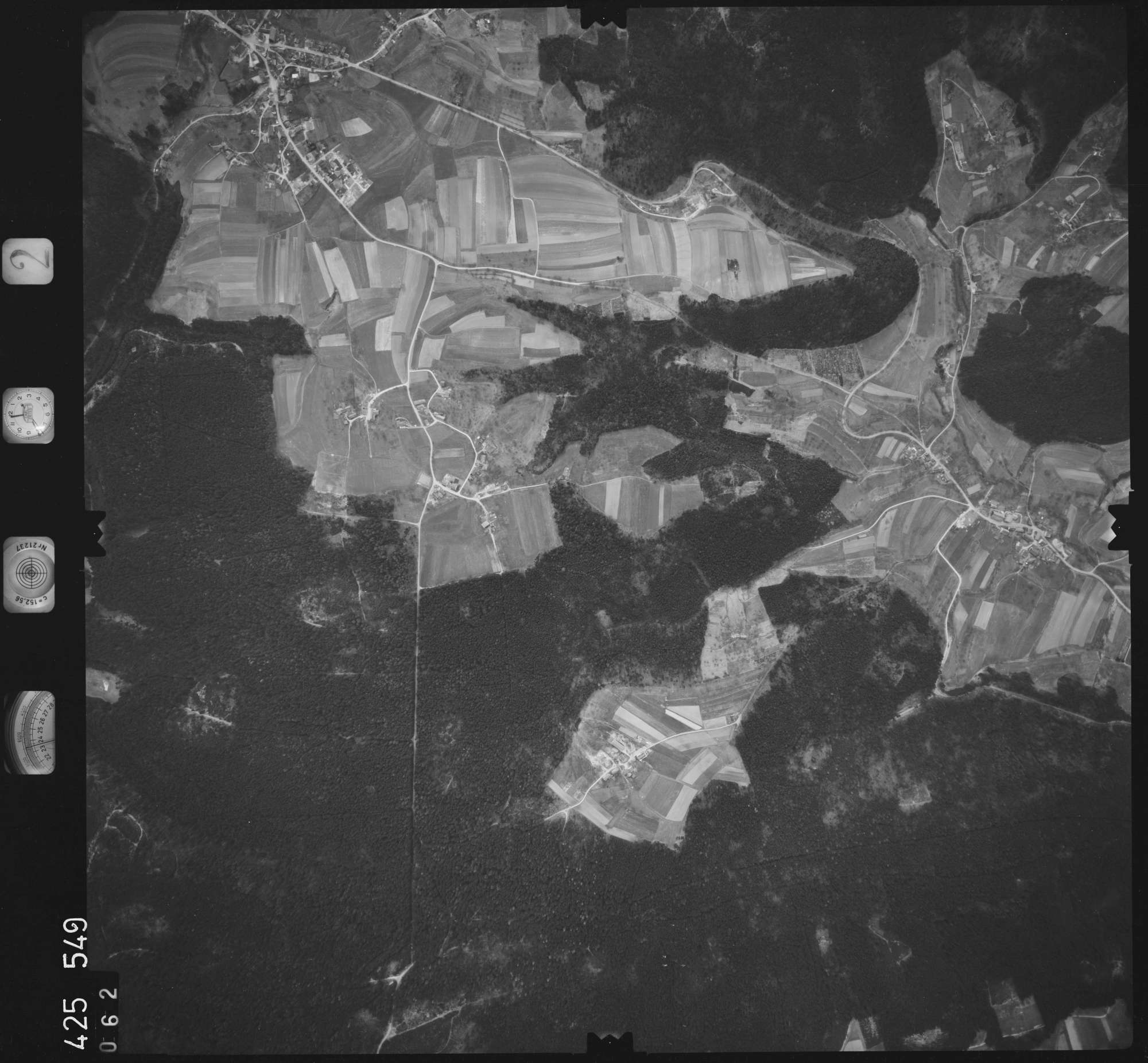 Luftbild: Film 2 Bildnr. 62, Bild 1