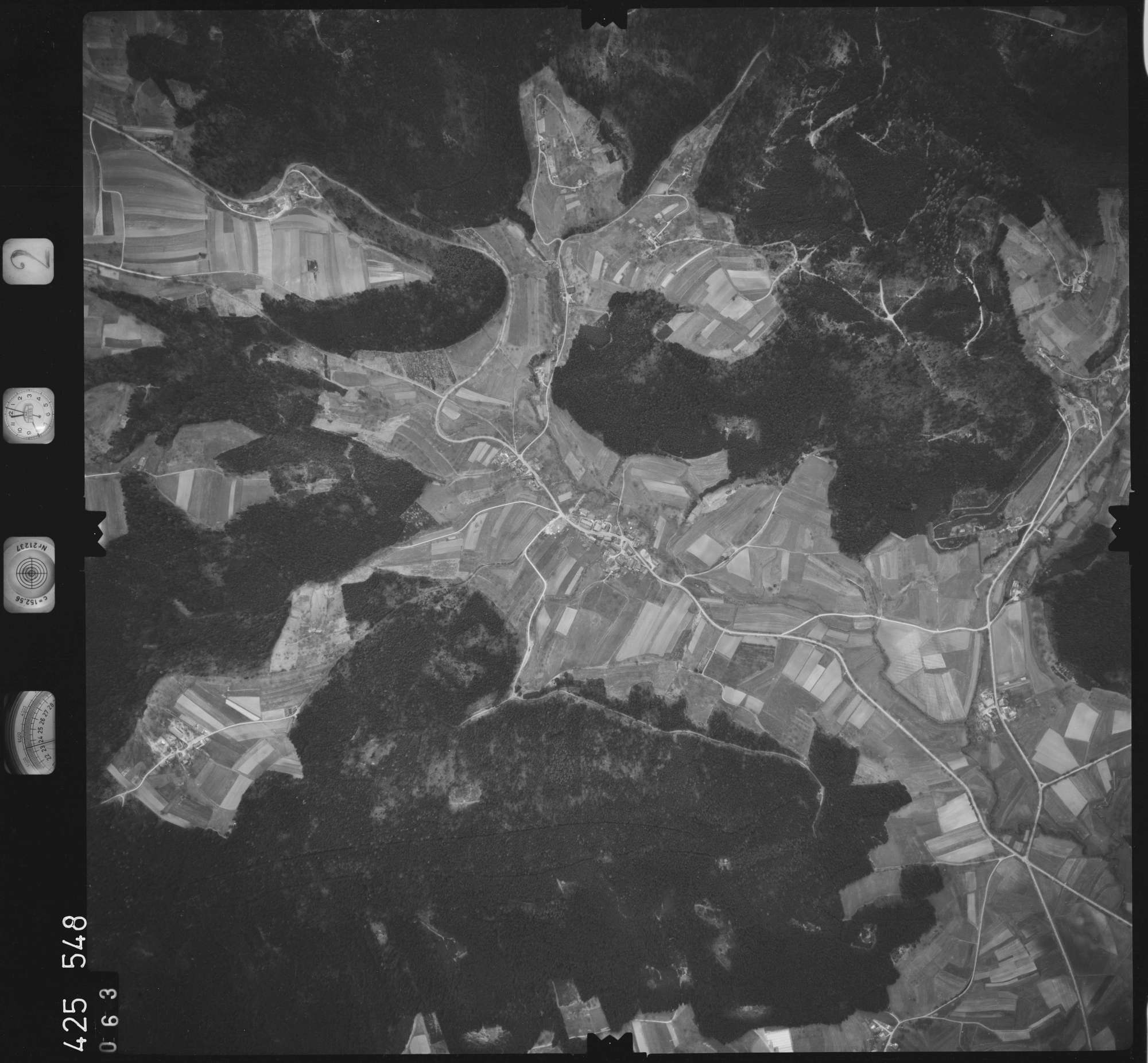 Luftbild: Film 2 Bildnr. 63, Bild 1