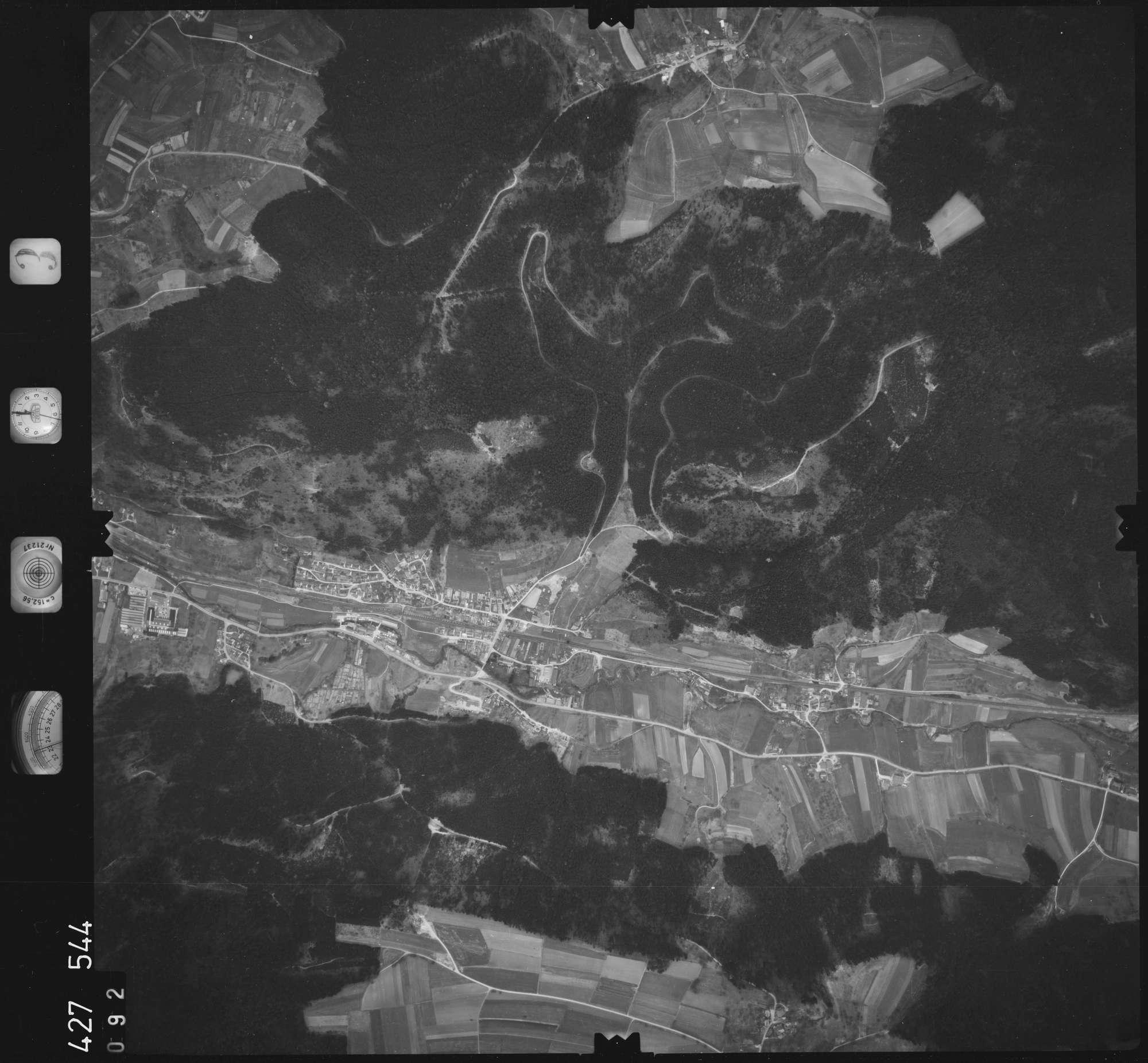 Luftbild: Film 3 Bildnr. 92, Bild 1