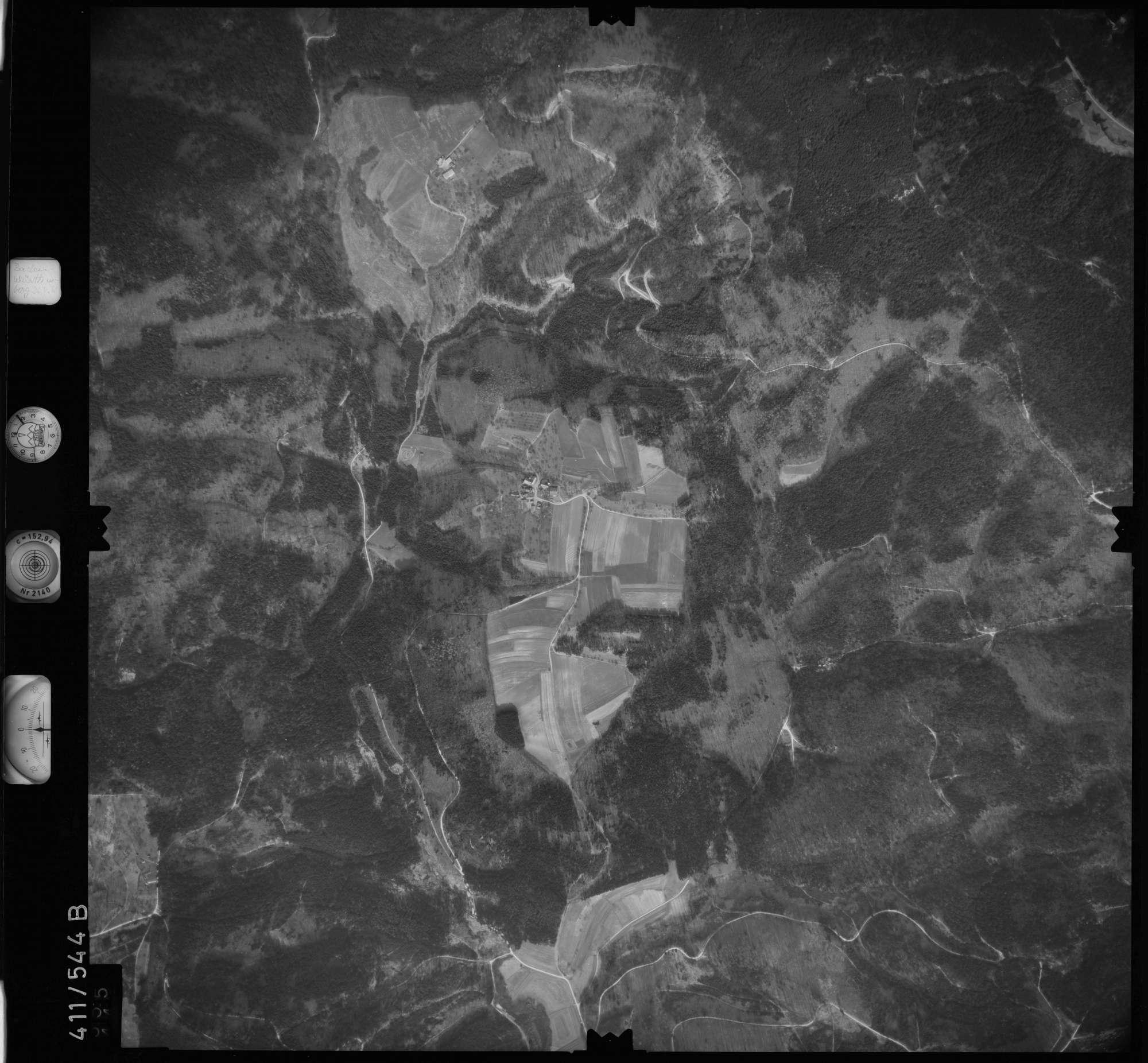 Luftbild: Film 7 Bildnr. 555, Bild 1