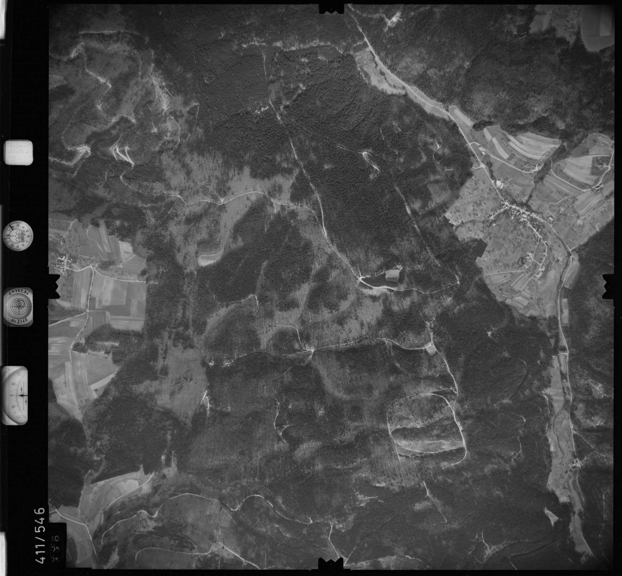 Luftbild: Film 7 Bildnr. 556, Bild 1