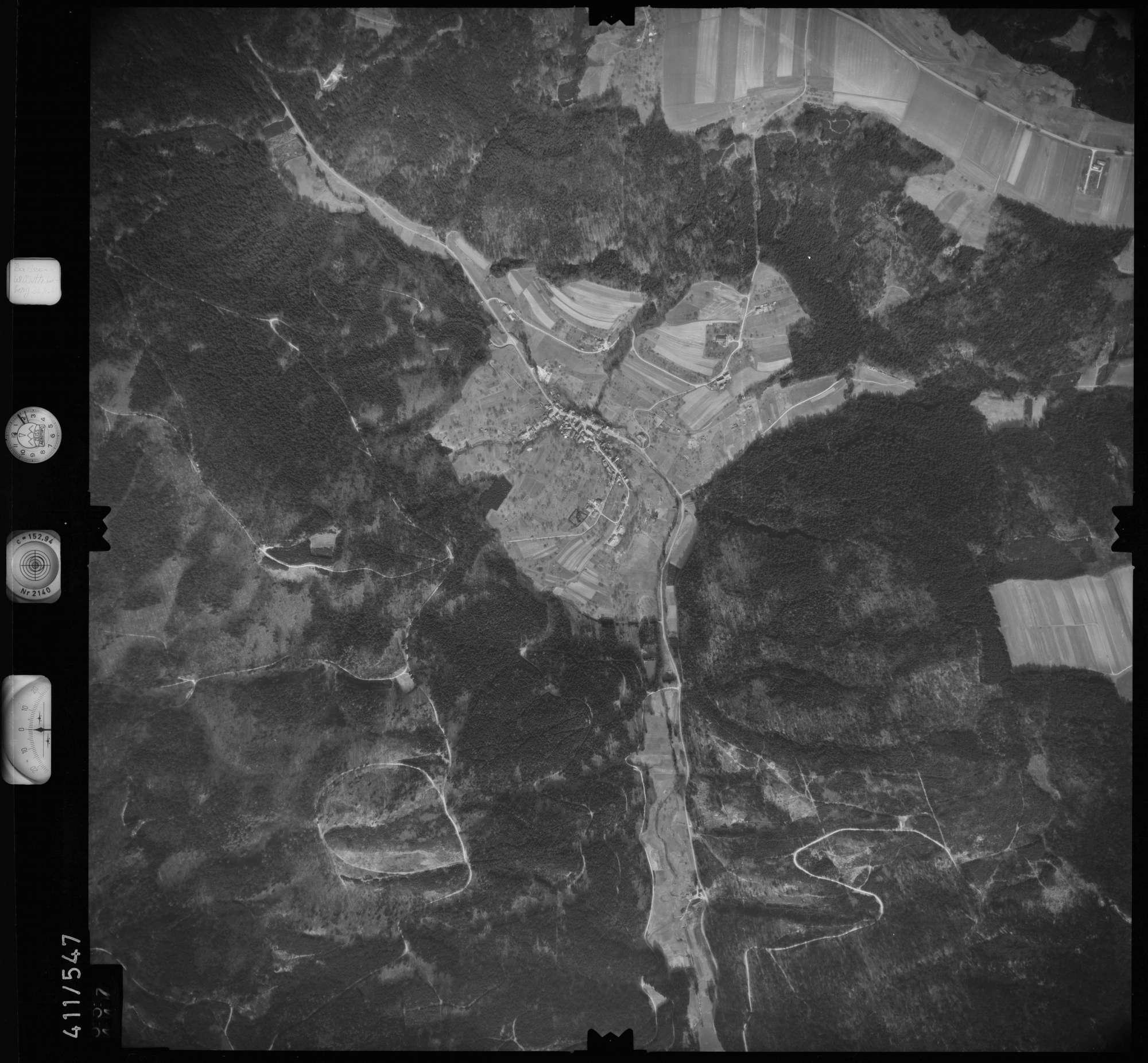 Luftbild: Film 7 Bildnr. 557, Bild 1