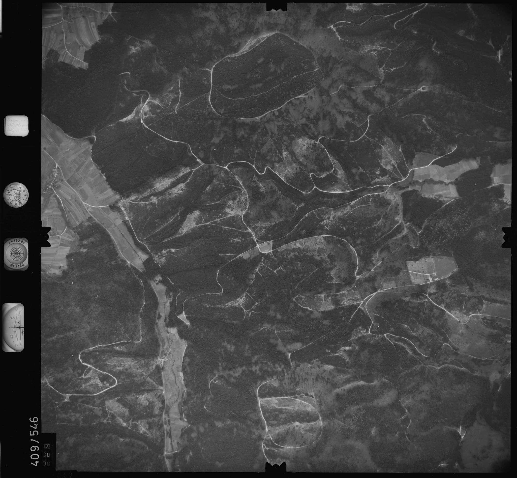 Luftbild: Film 7 Bildnr. 669, Bild 1