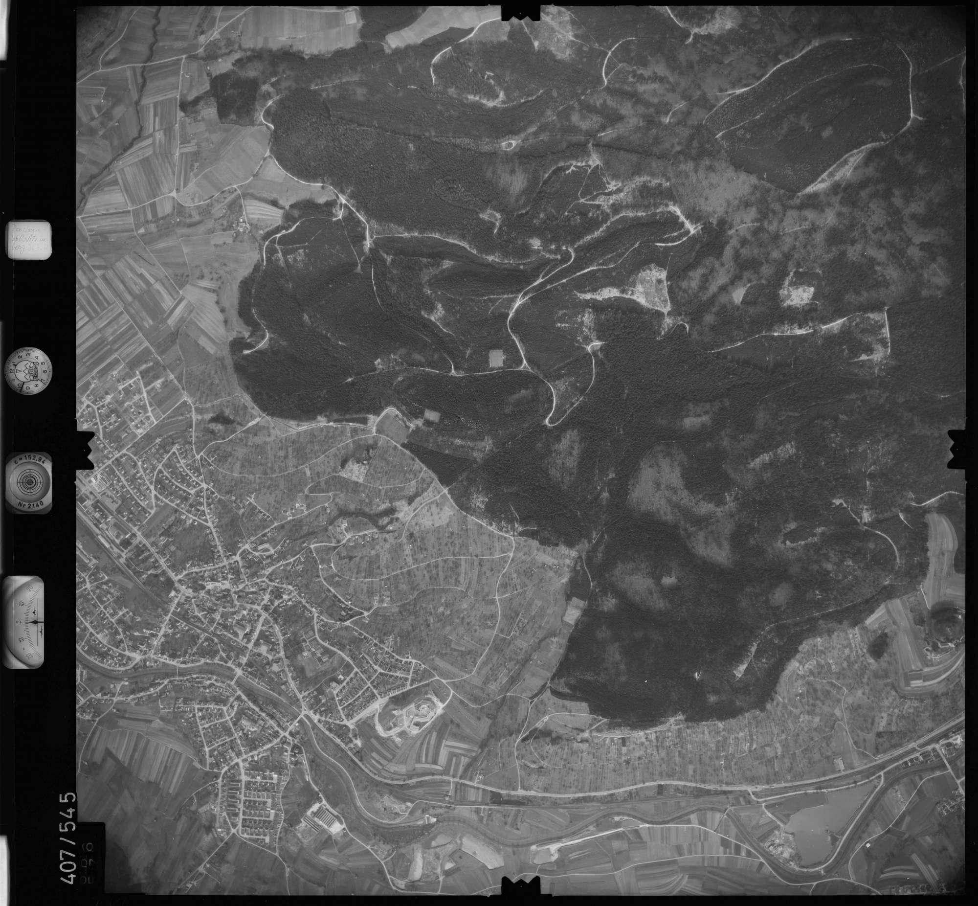 Luftbild: Film 7 Bildnr. 686, Bild 1