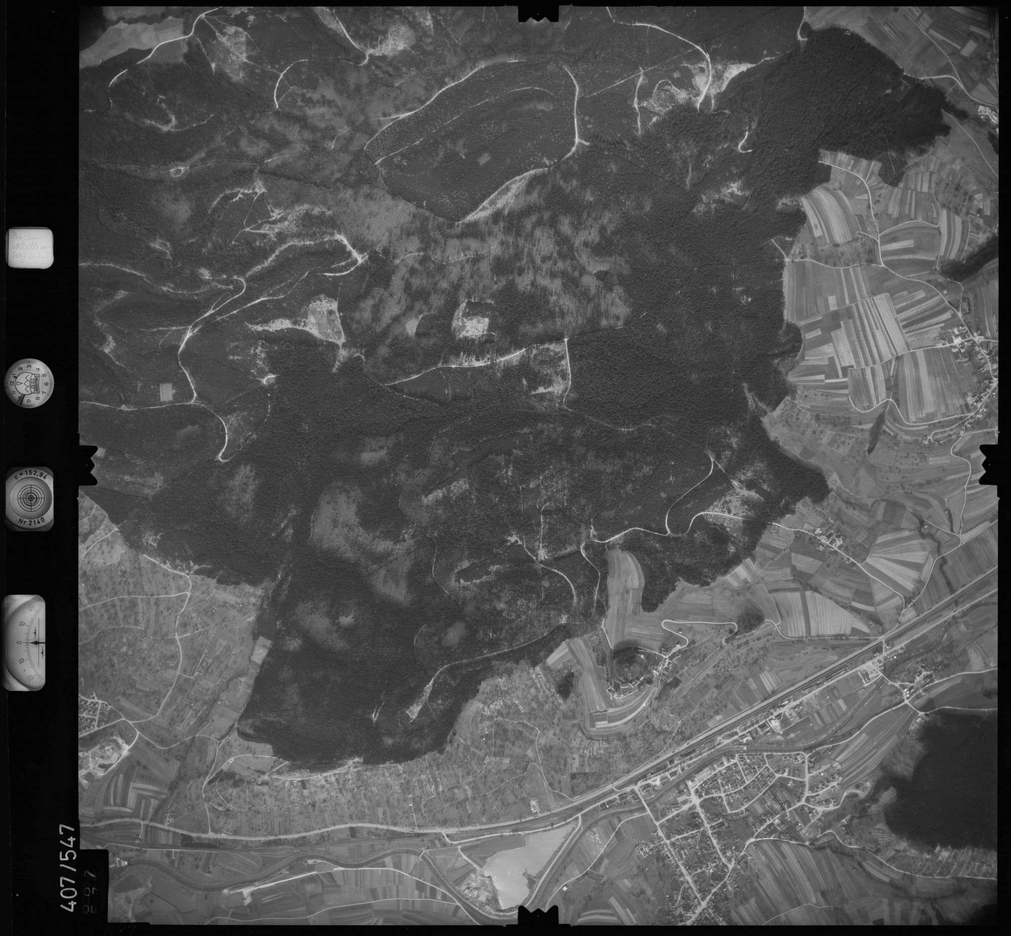 Luftbild: Film 7 Bildnr. 687, Bild 1