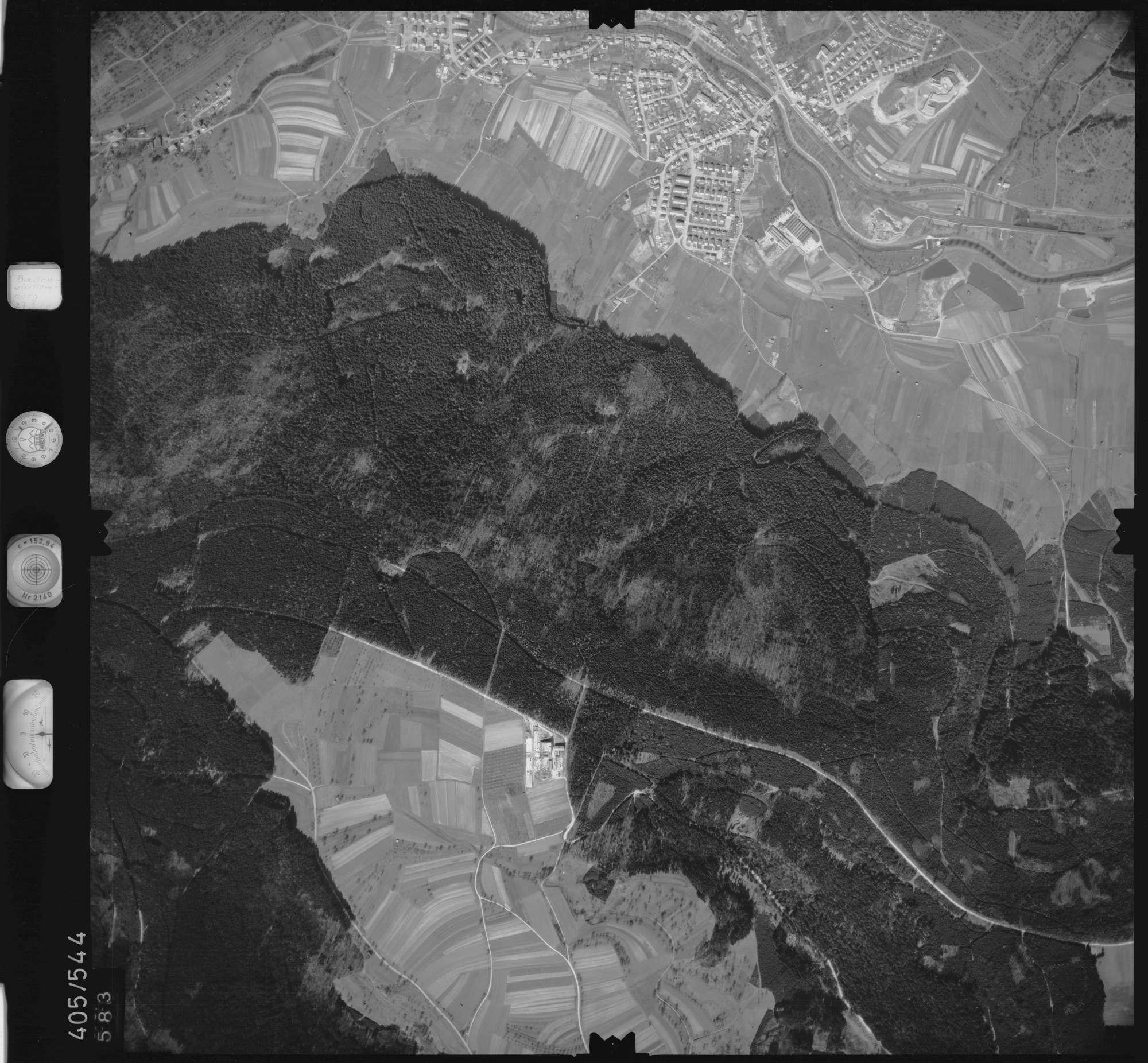 Luftbild: Film 10 Bildnr. 583, Bild 1