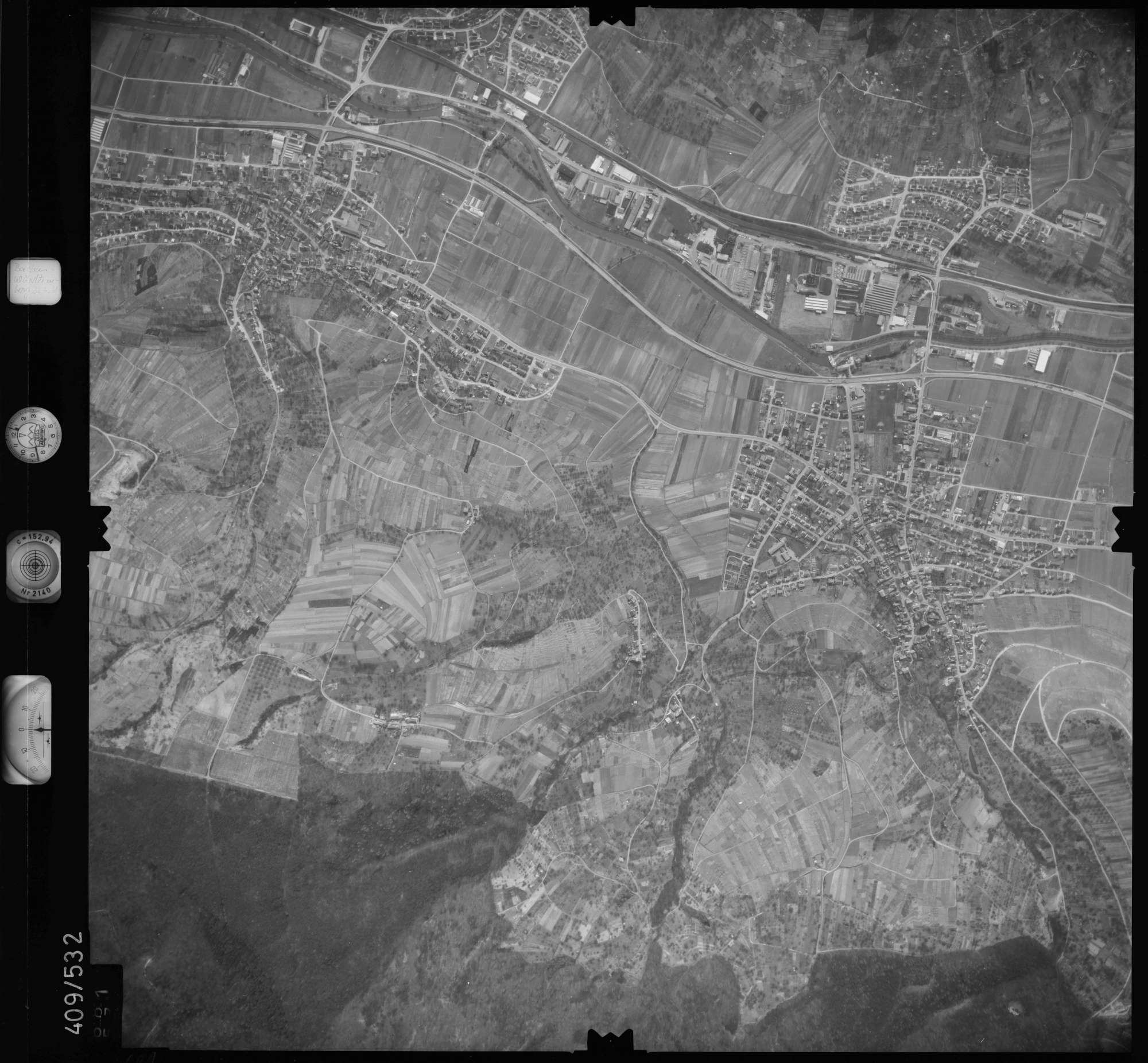 Luftbild: Film 7 Bildnr. 681, Bild 1