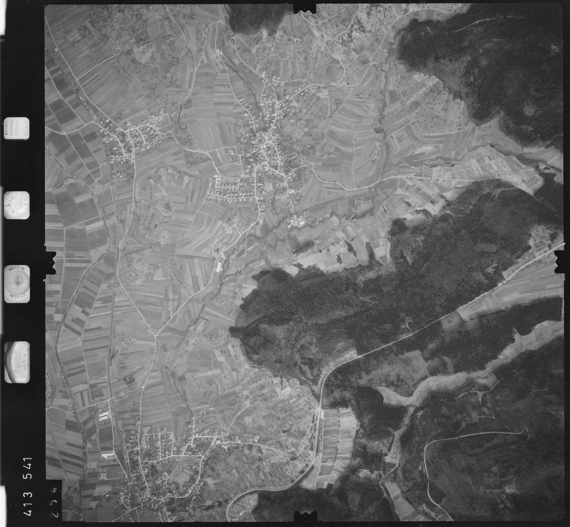 Luftbild: Film 5 Bildnr. 254, Bild 1