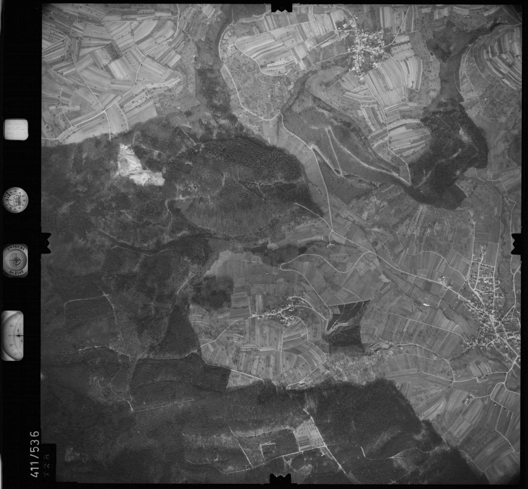 Luftbild: Film 7 Bildnr. 548, Bild 1