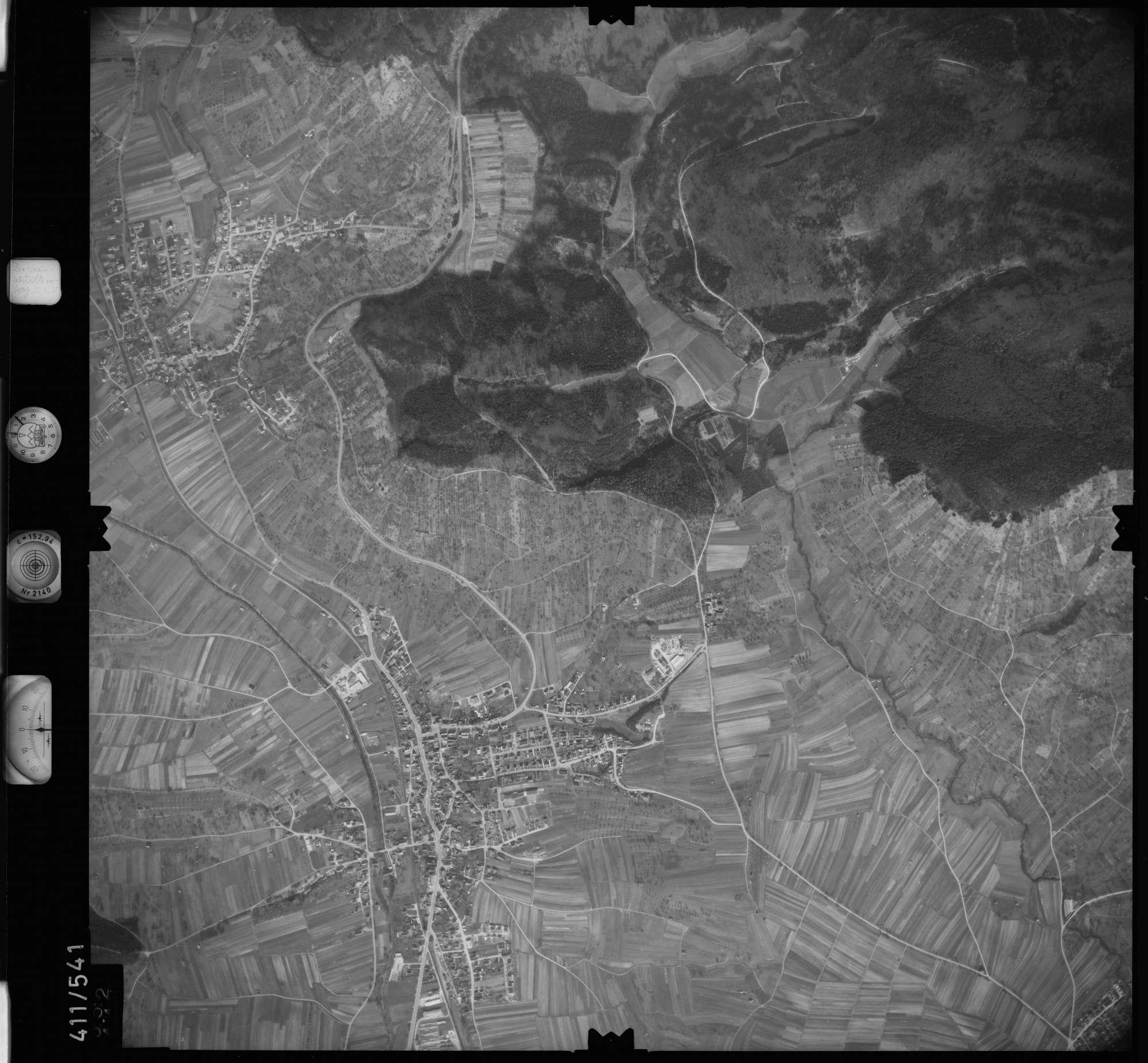 Luftbild: Film 7 Bildnr. 552, Bild 1