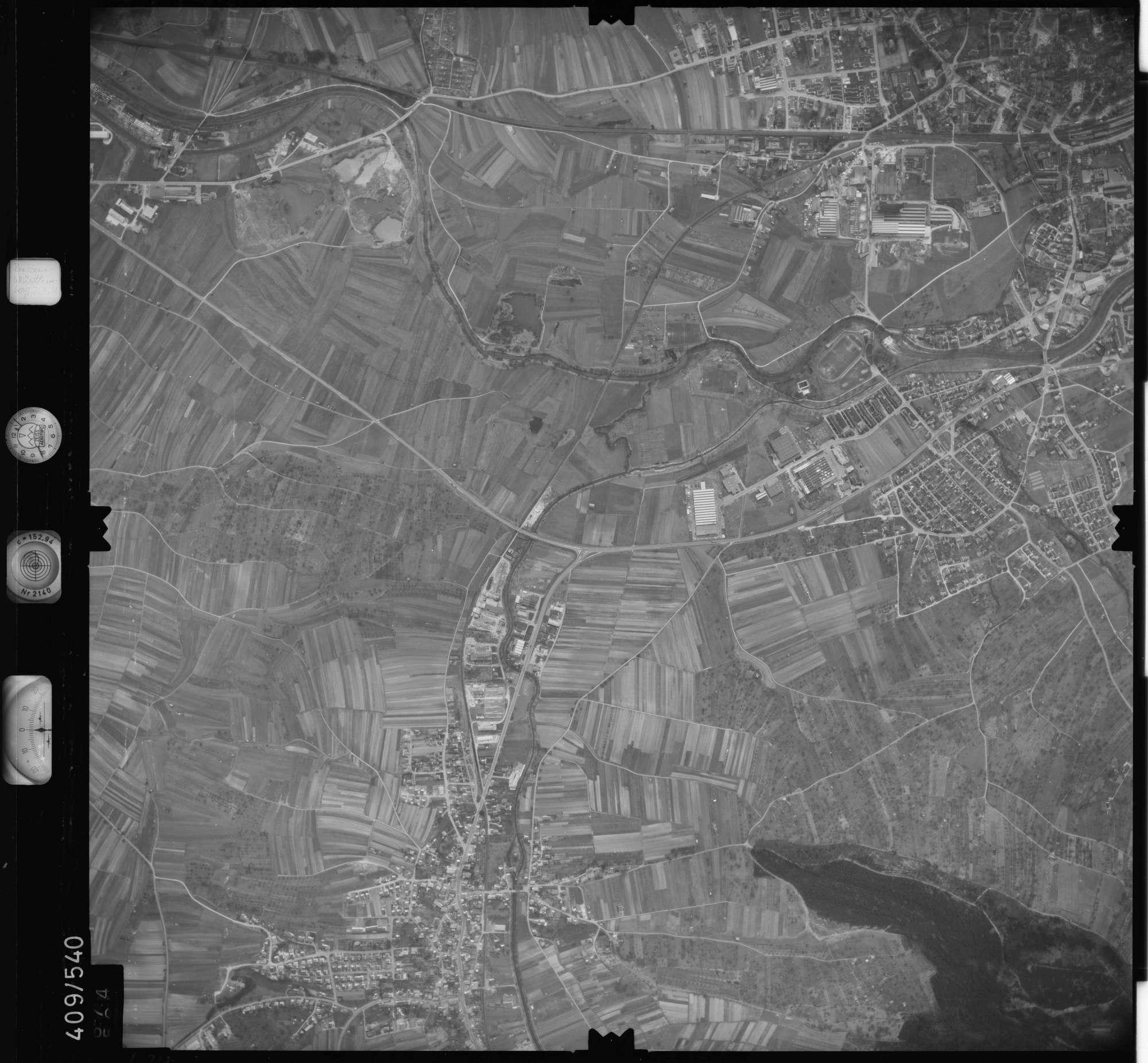 Luftbild: Film 7 Bildnr. 674, Bild 1