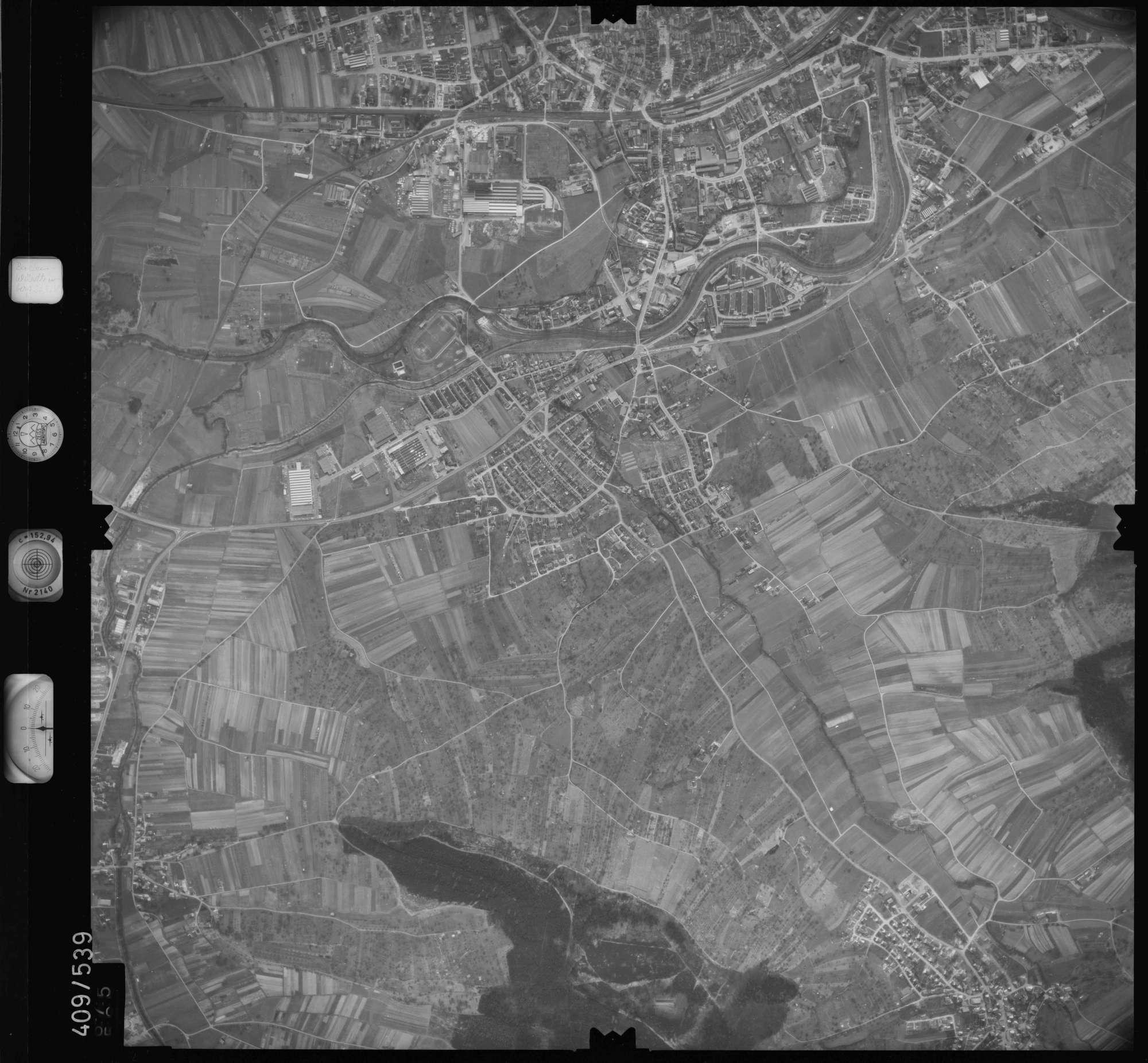 Luftbild: Film 7 Bildnr. 675, Bild 1