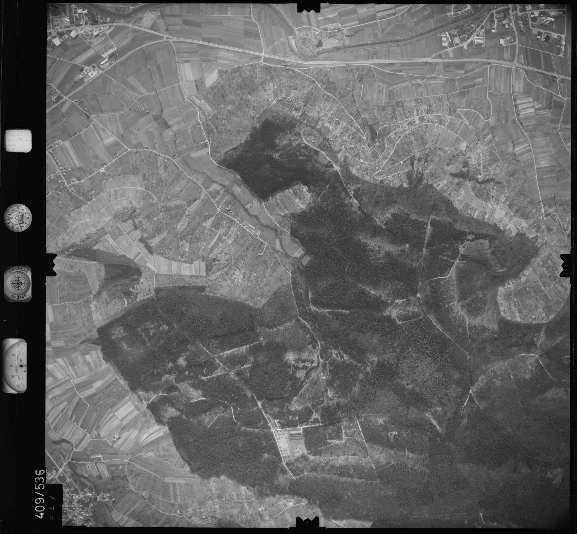Luftbild: Film 7 Bildnr. 677, Bild 1