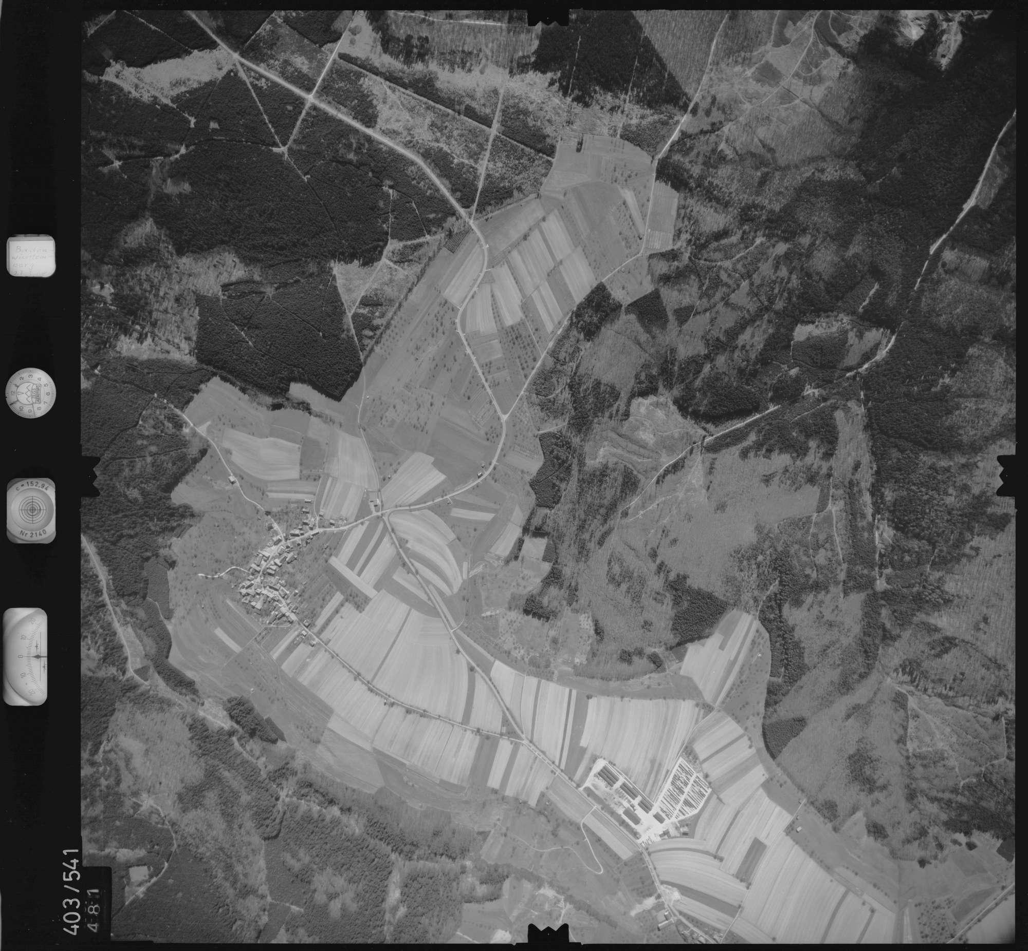 Luftbild: Film 10 Bildnr. 481, Bild 1
