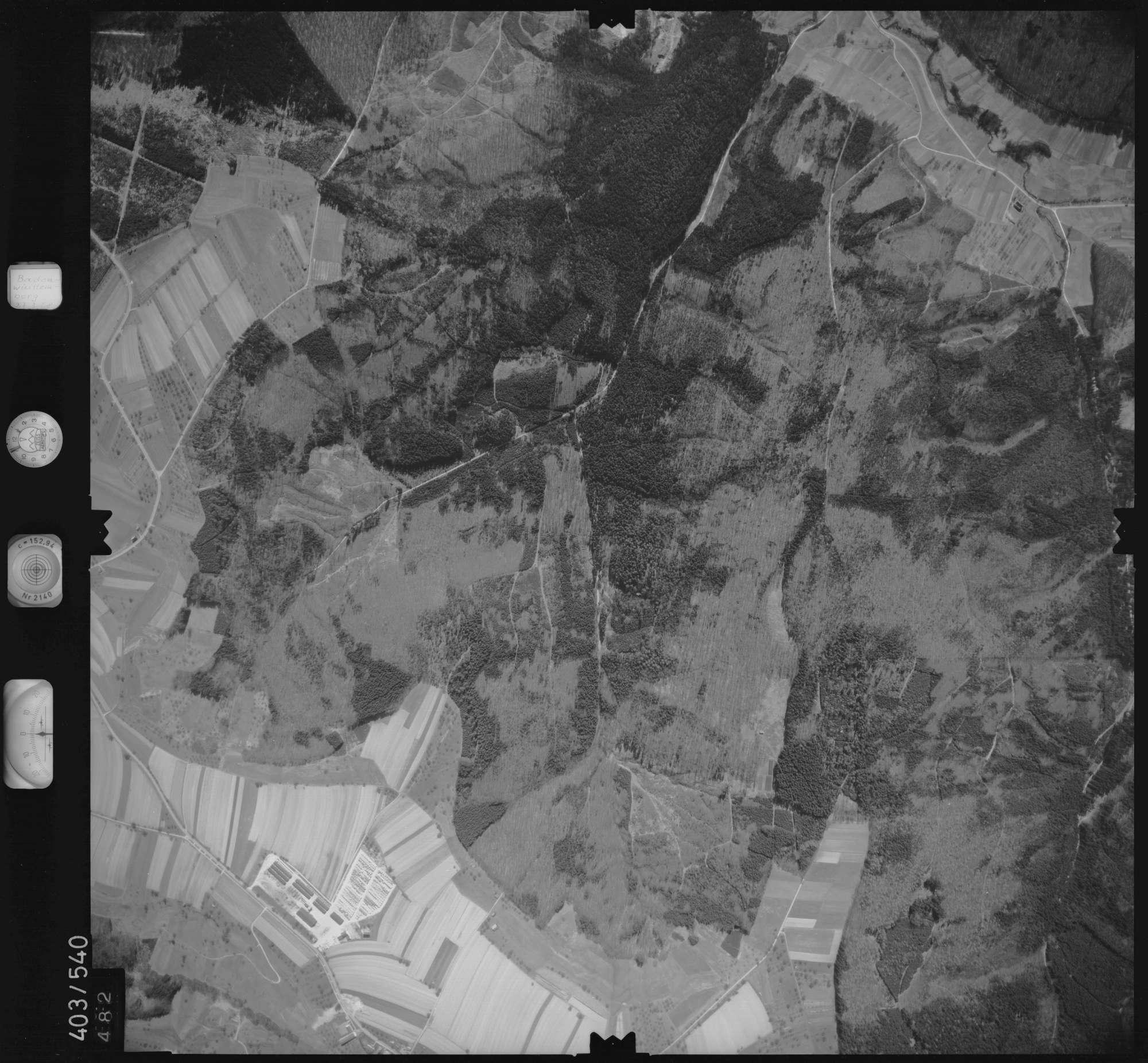 Luftbild: Film 10 Bildnr. 482, Bild 1