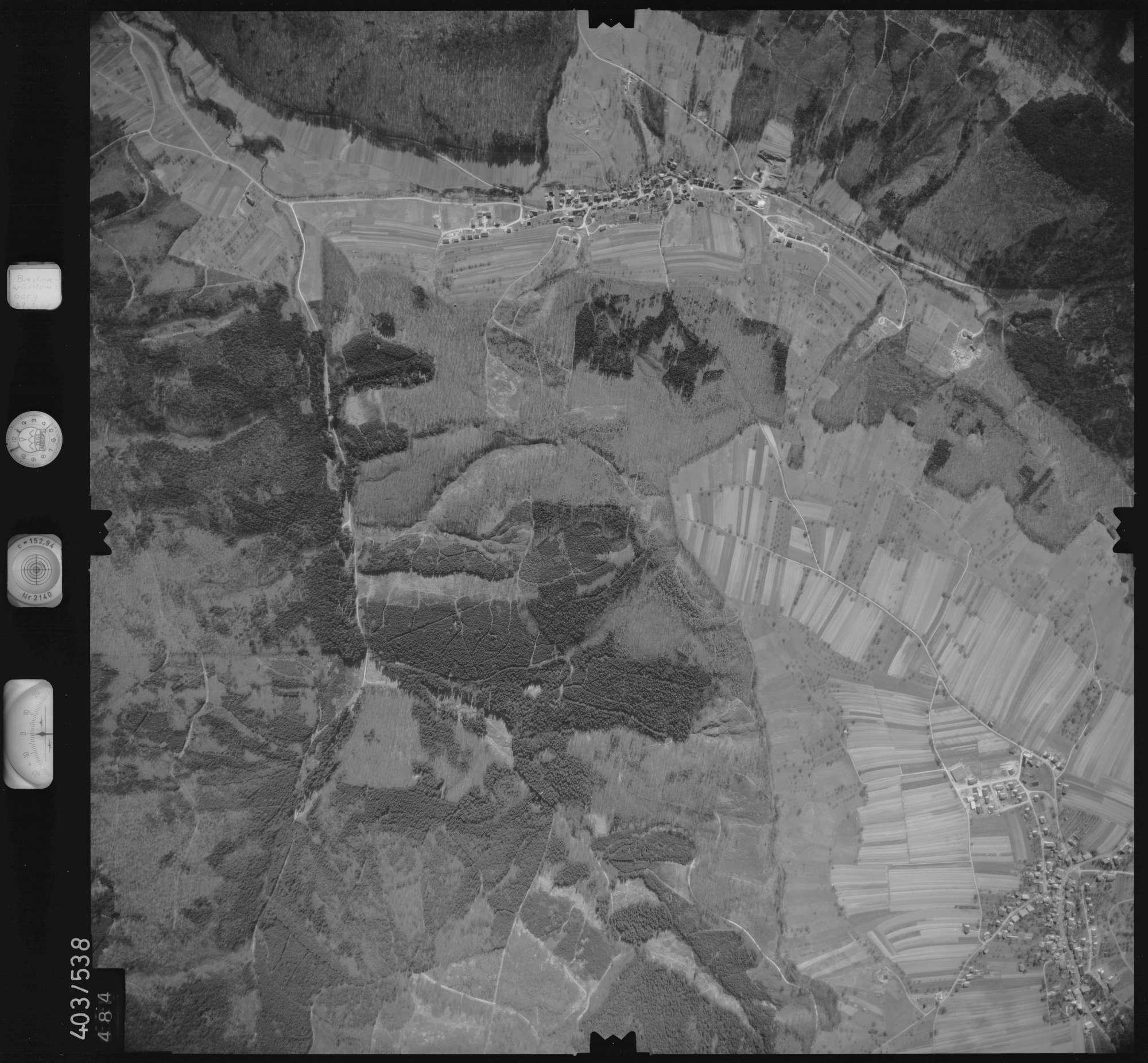 Luftbild: Film 10 Bildnr. 484, Bild 1