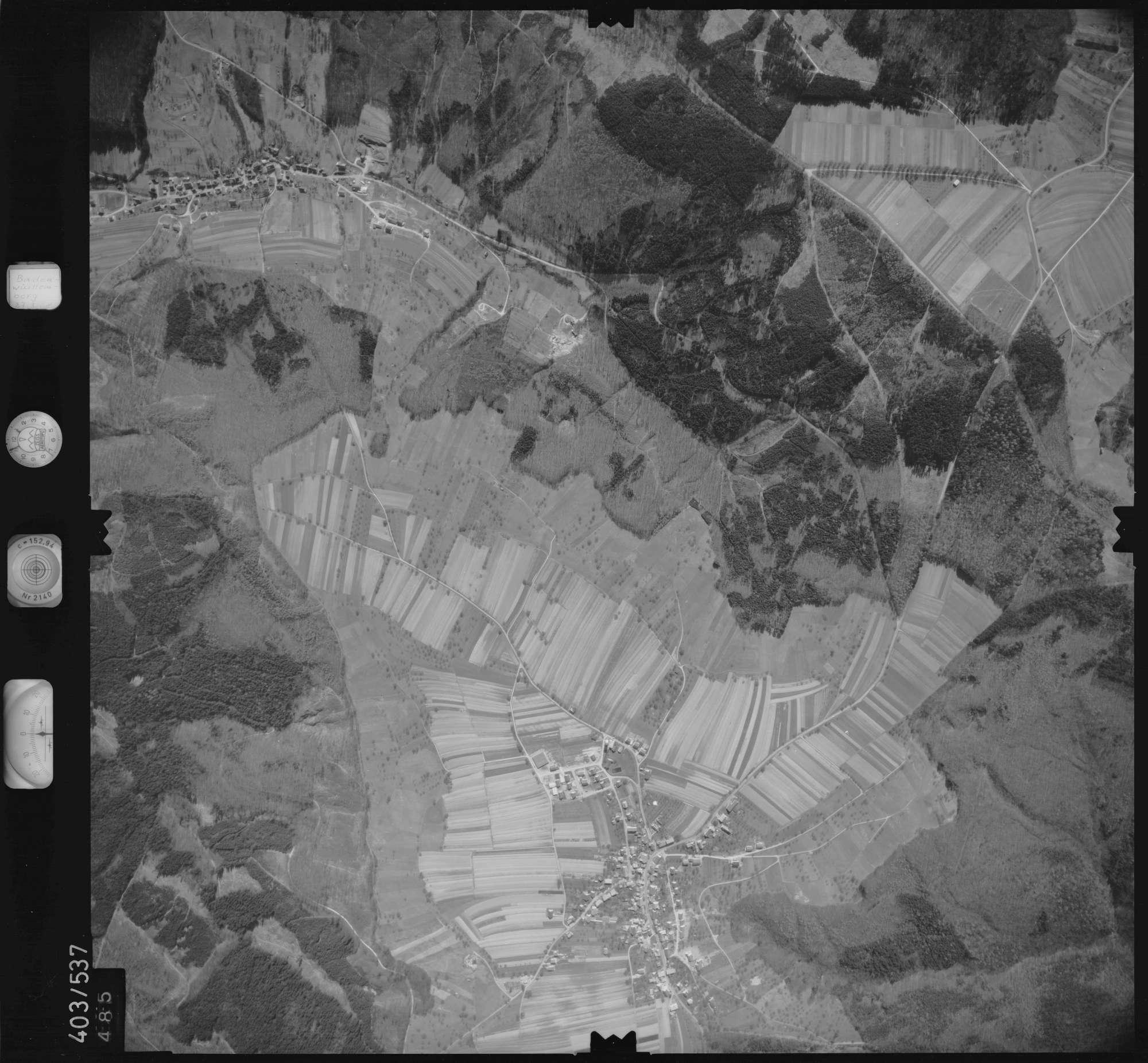Luftbild: Film 10 Bildnr. 485, Bild 1