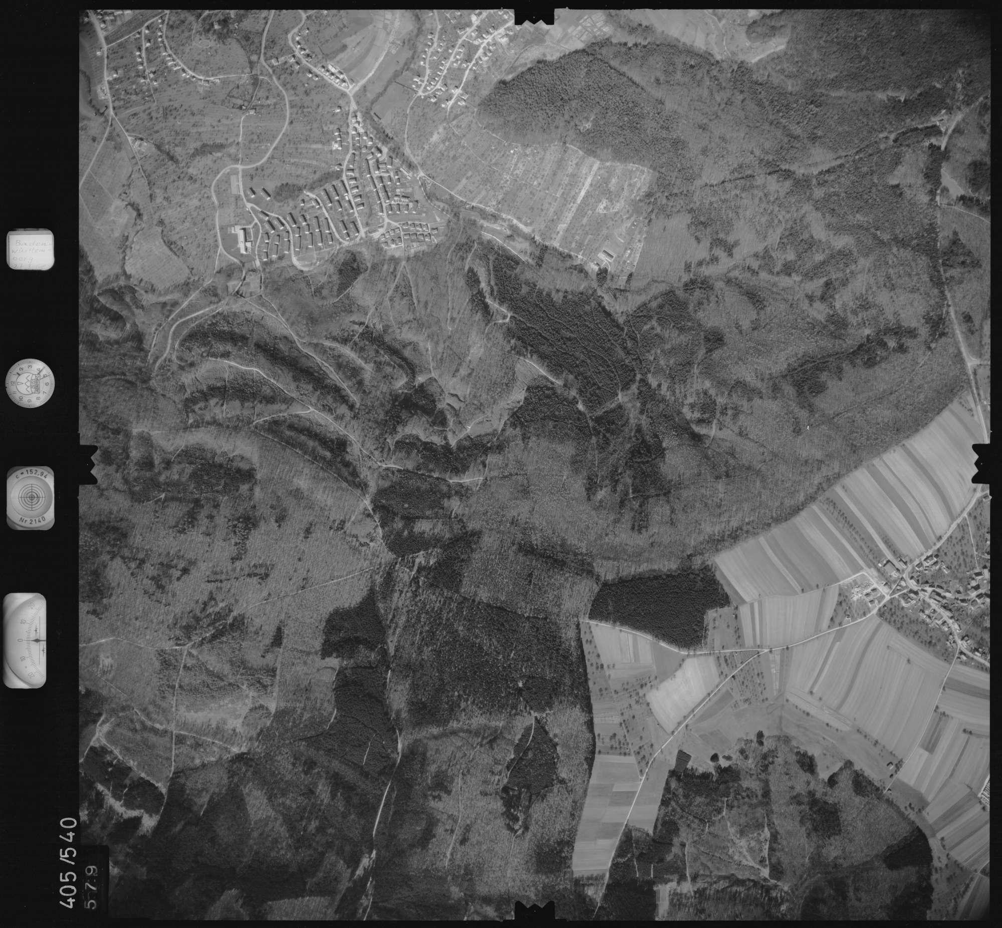 Luftbild: Film 10 Bildnr. 579, Bild 1