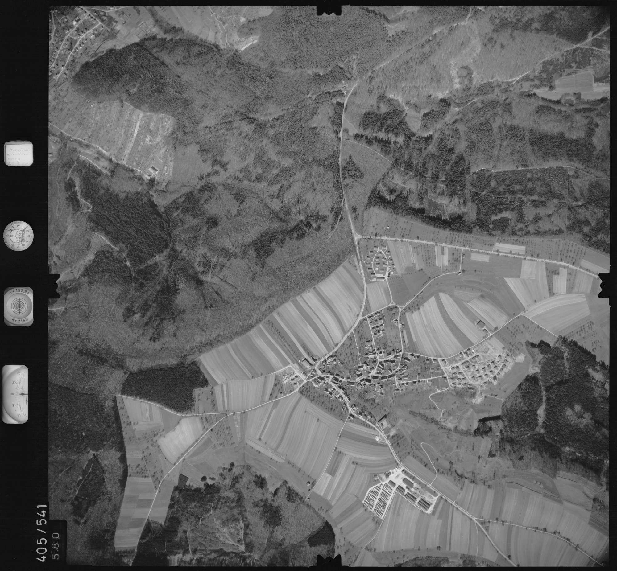 Luftbild: Film 10 Bildnr. 580, Bild 1