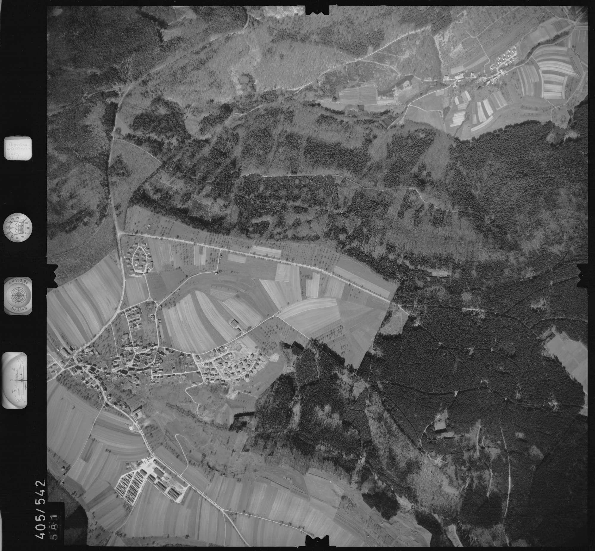 Luftbild: Film 10 Bildnr. 581, Bild 1