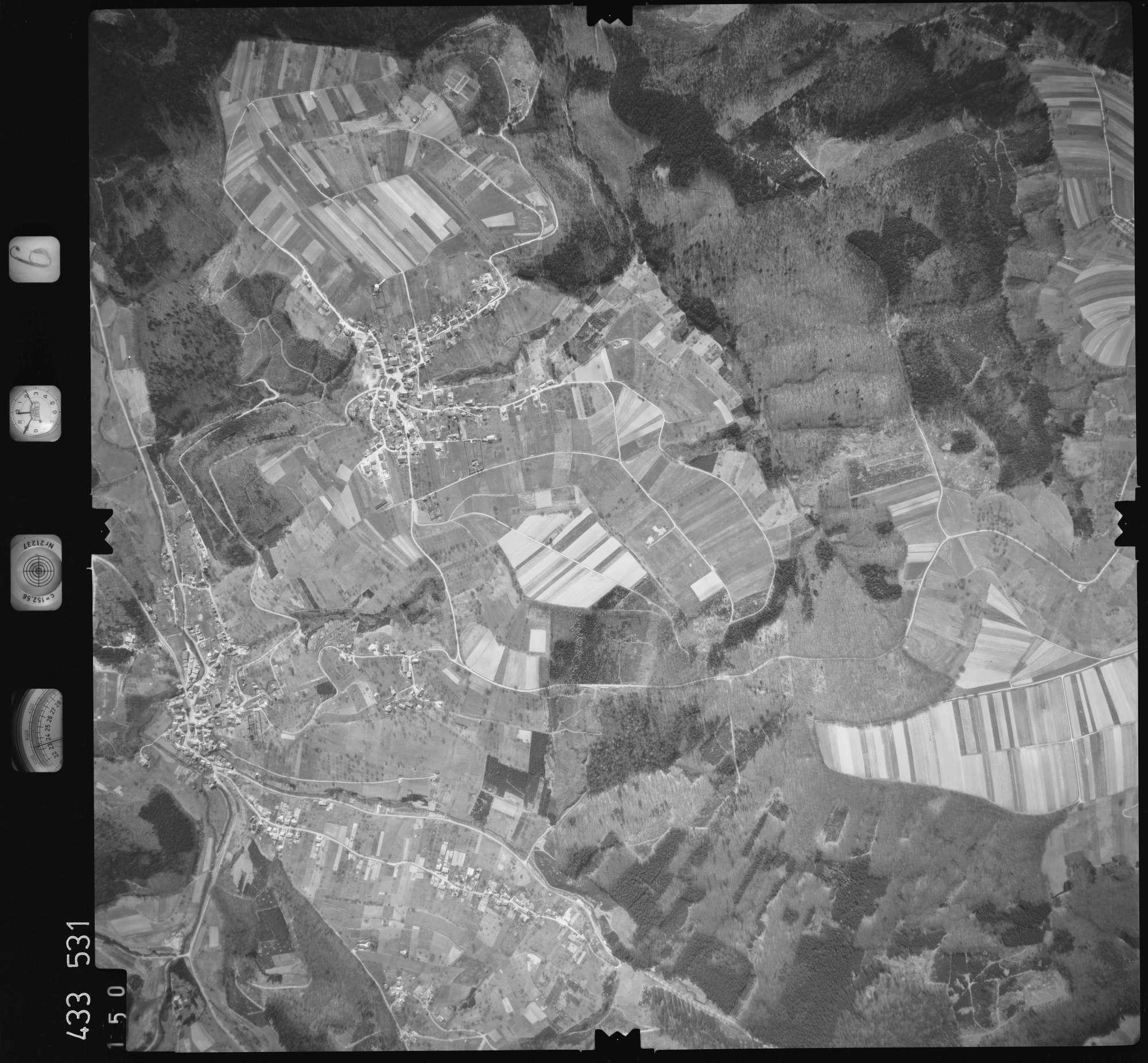 Luftbild: Film 6 Bildnr. 150, Bild 1