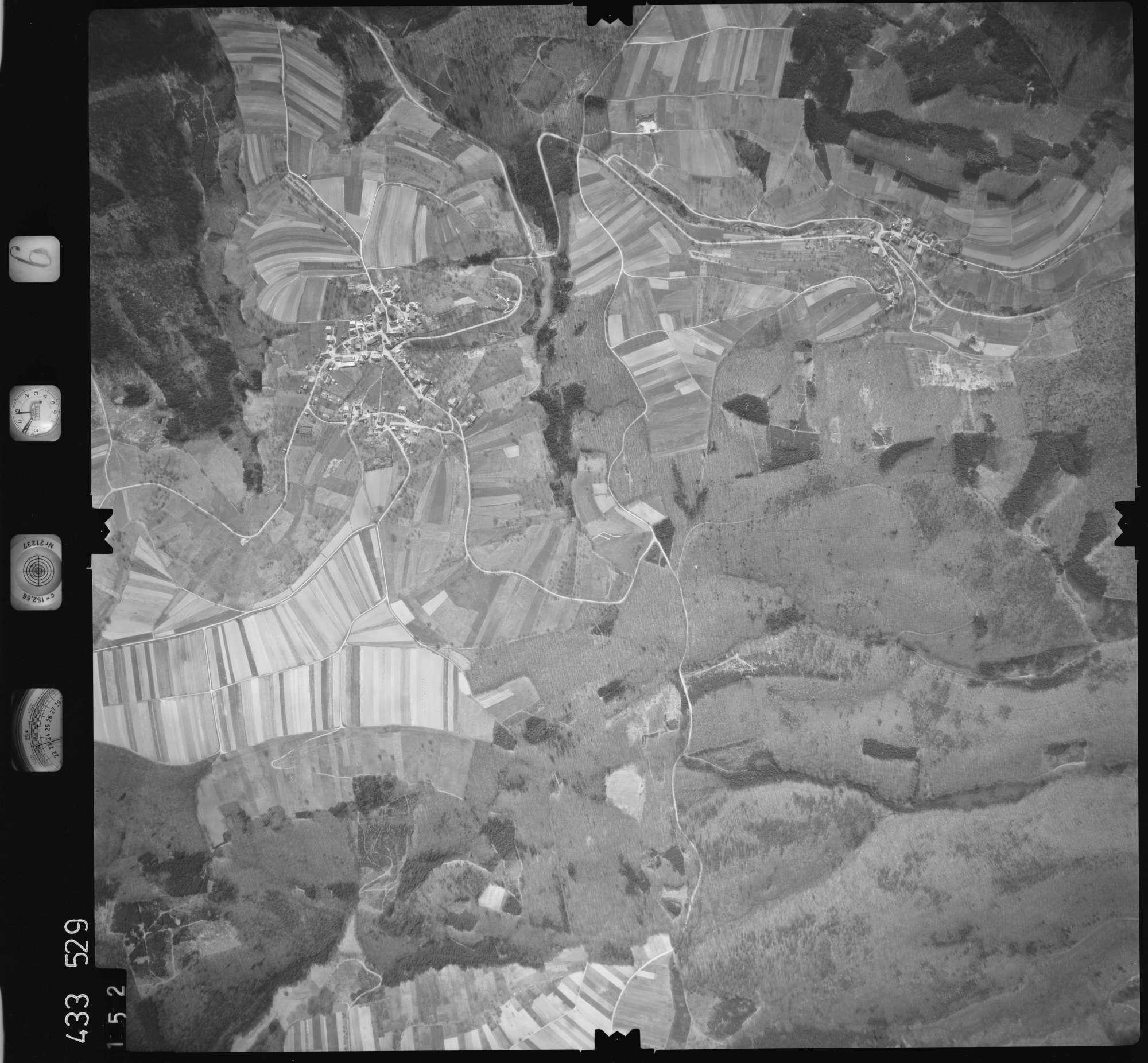 Luftbild: Film 6 Bildnr. 152, Bild 1