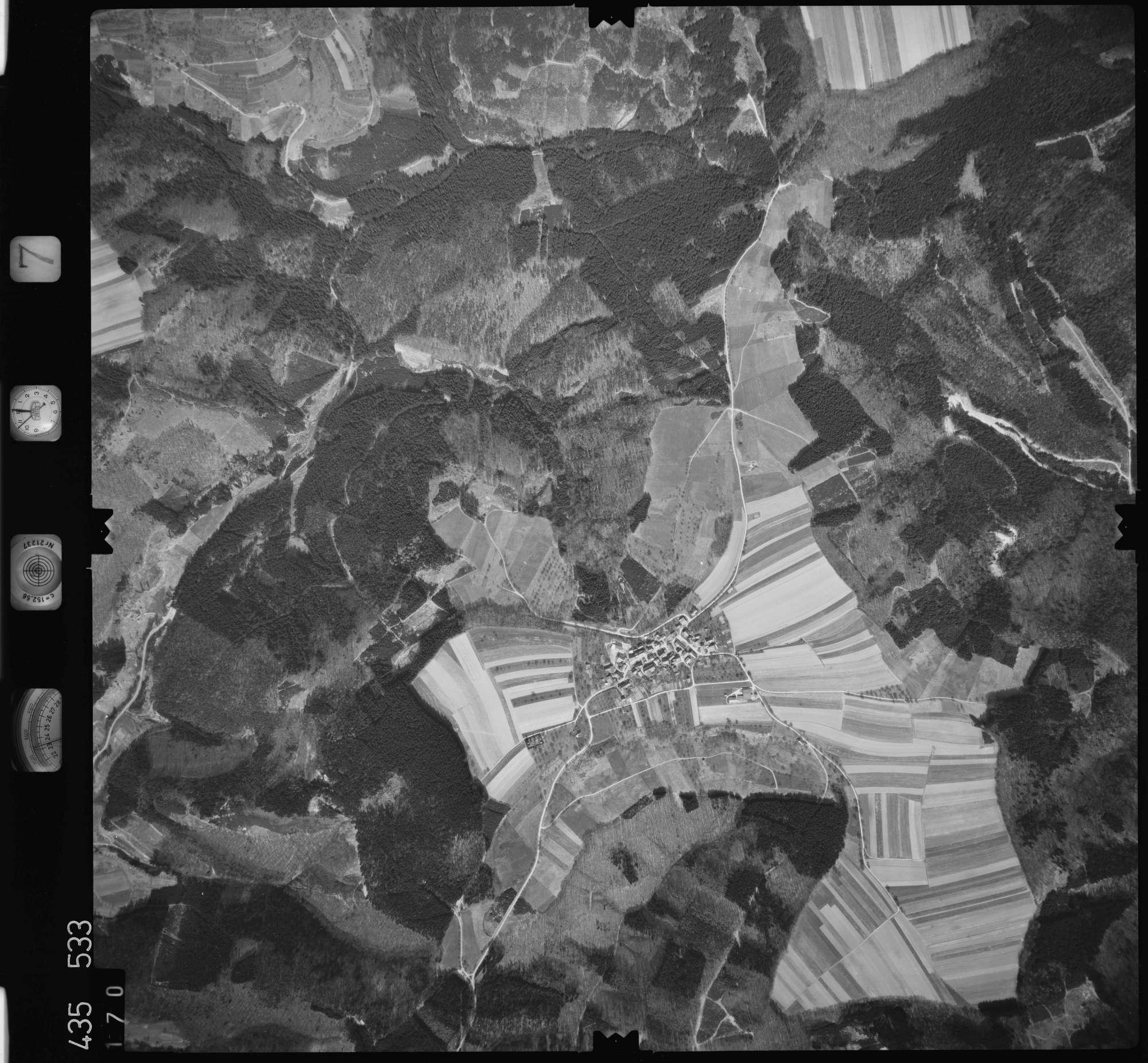 Luftbild: Film 7 Bildnr. 170, Bild 1