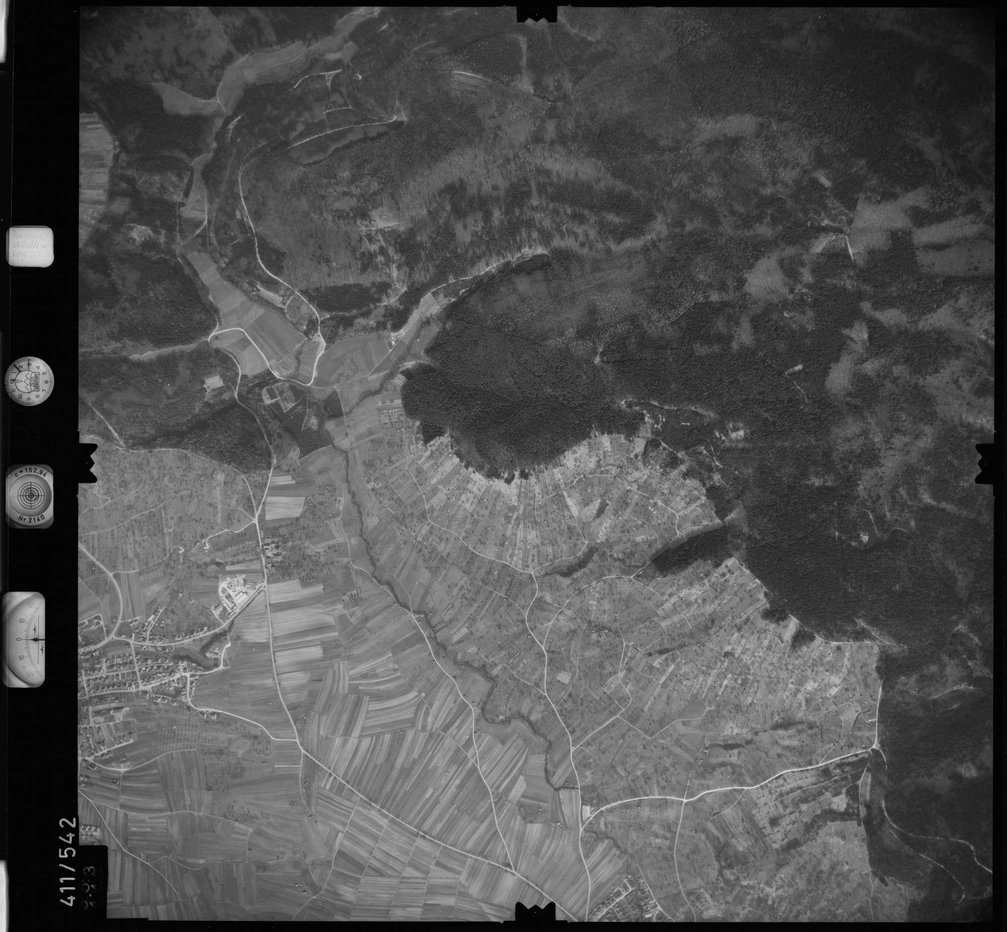 Luftbild: Film 7 Bildnr. 553, Bild 1