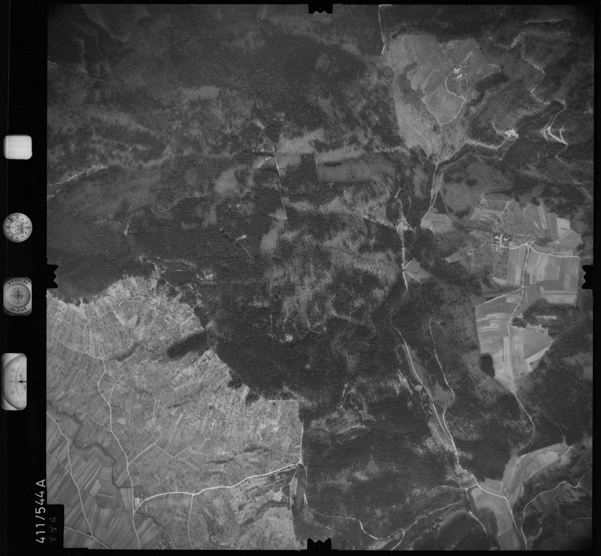 Luftbild: Film 7 Bildnr. 554, Bild 1