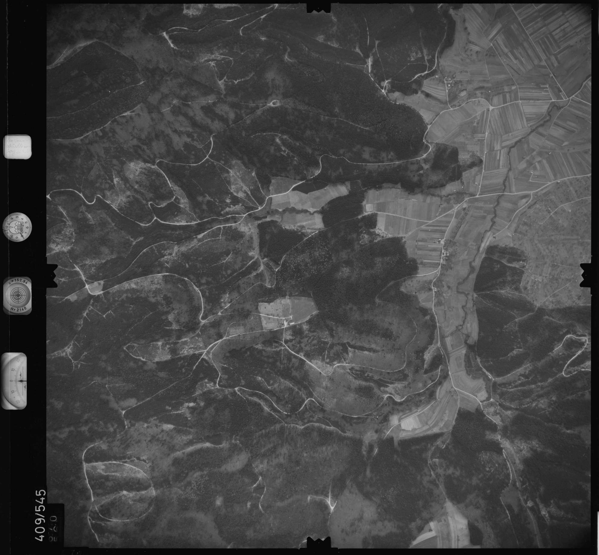 Luftbild: Film 7 Bildnr. 670, Bild 1