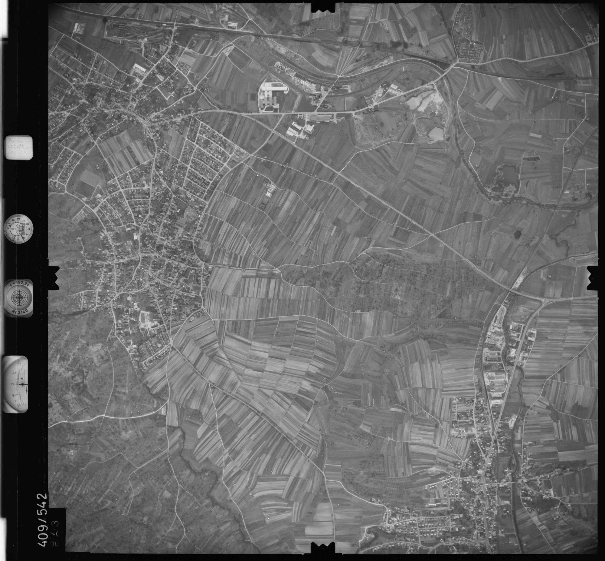 Luftbild: Film 7 Bildnr. 673, Bild 1