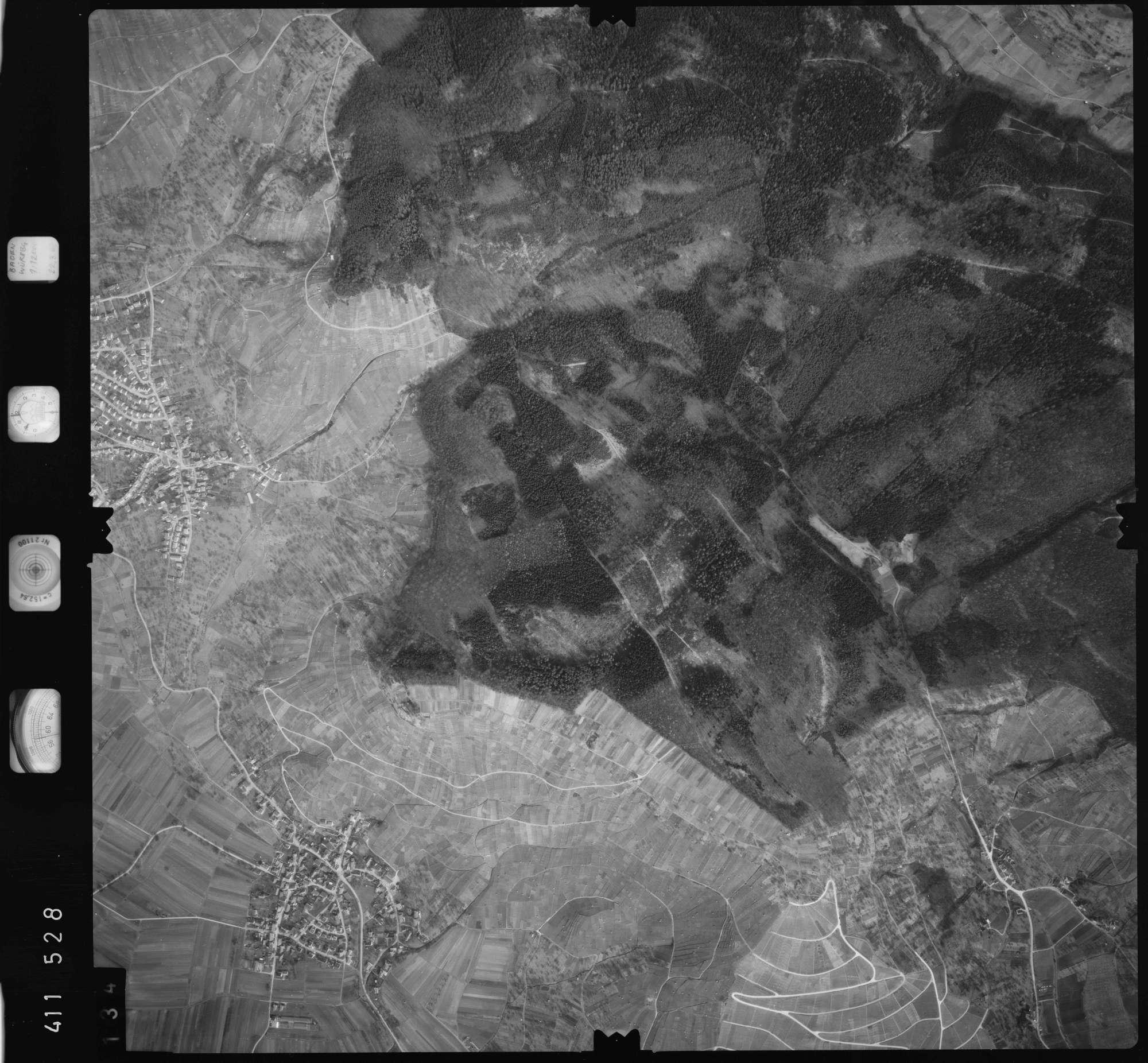 Luftbild: Film 5 Bildnr. 134, Bild 1