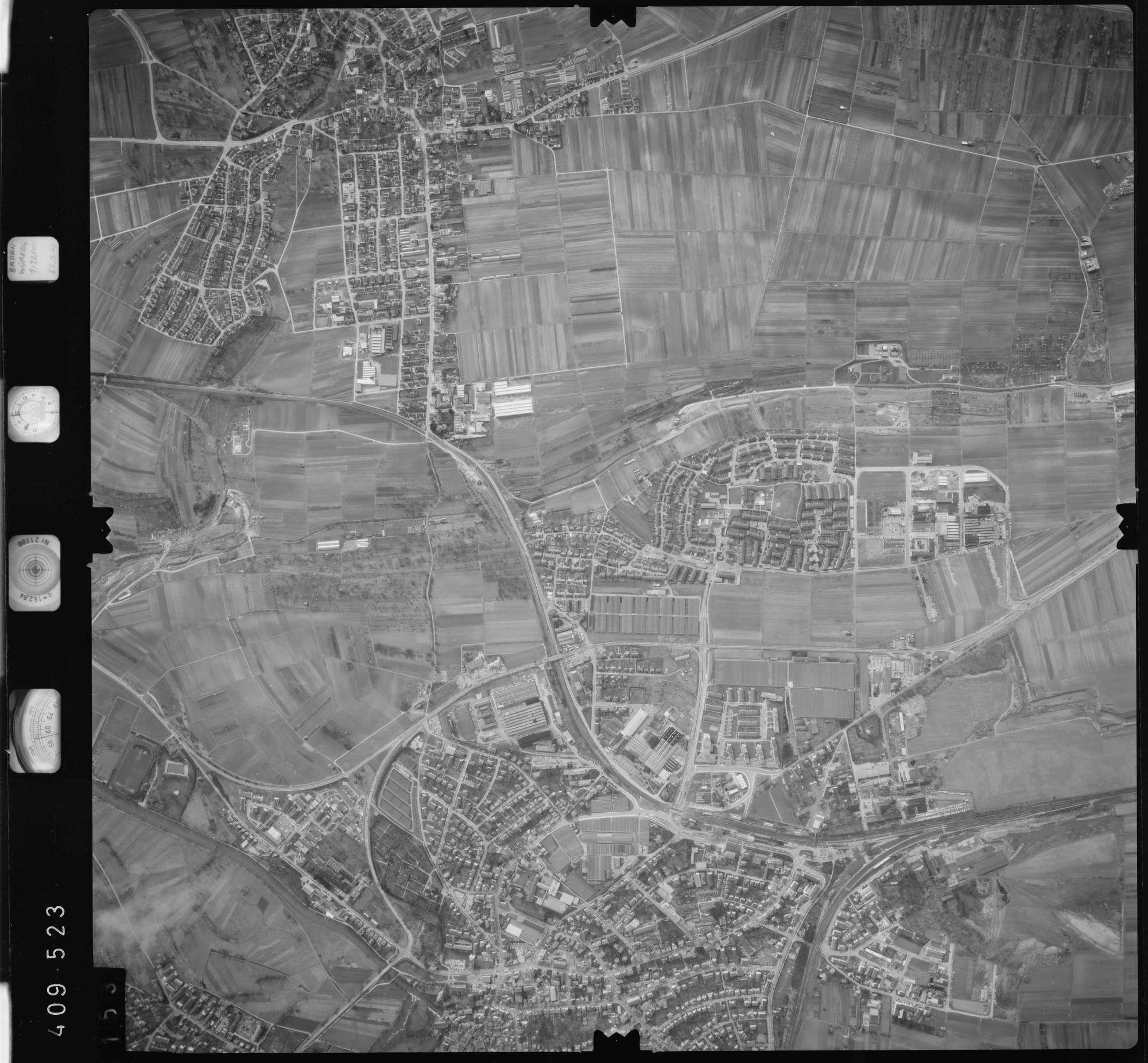 Luftbild: Film 5 Bildnr. 153, Bild 1