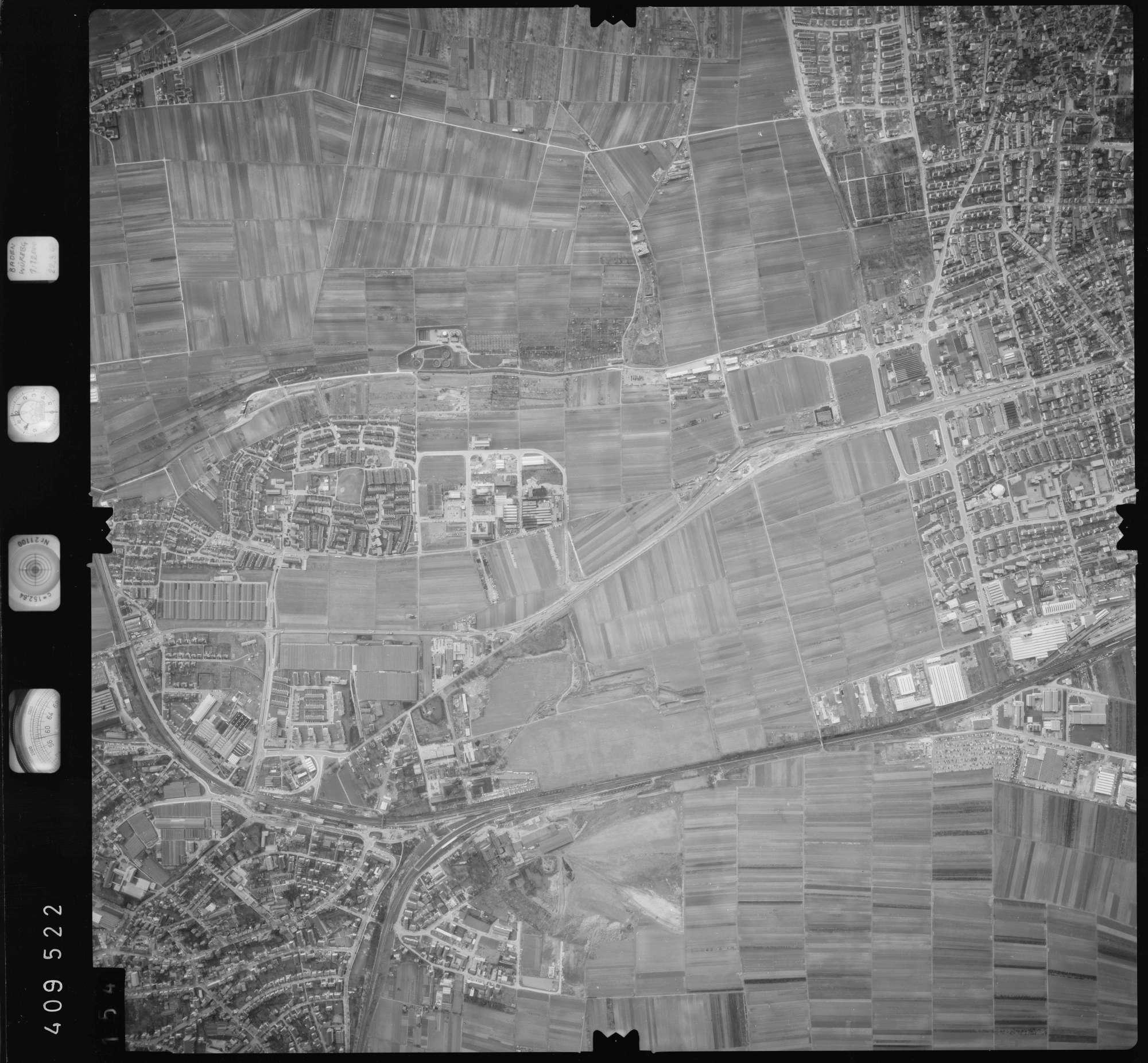 Luftbild: Film 5 Bildnr. 154, Bild 1