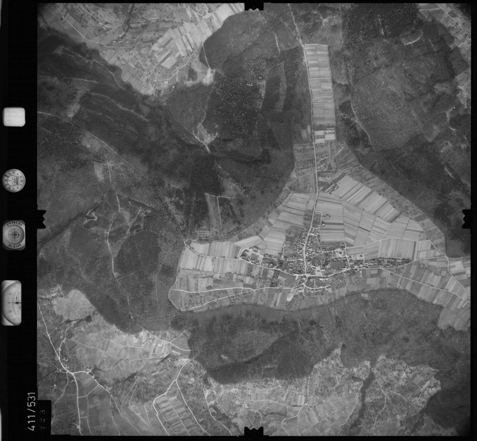 Luftbild: Film 7 Bildnr. 543, Bild 1